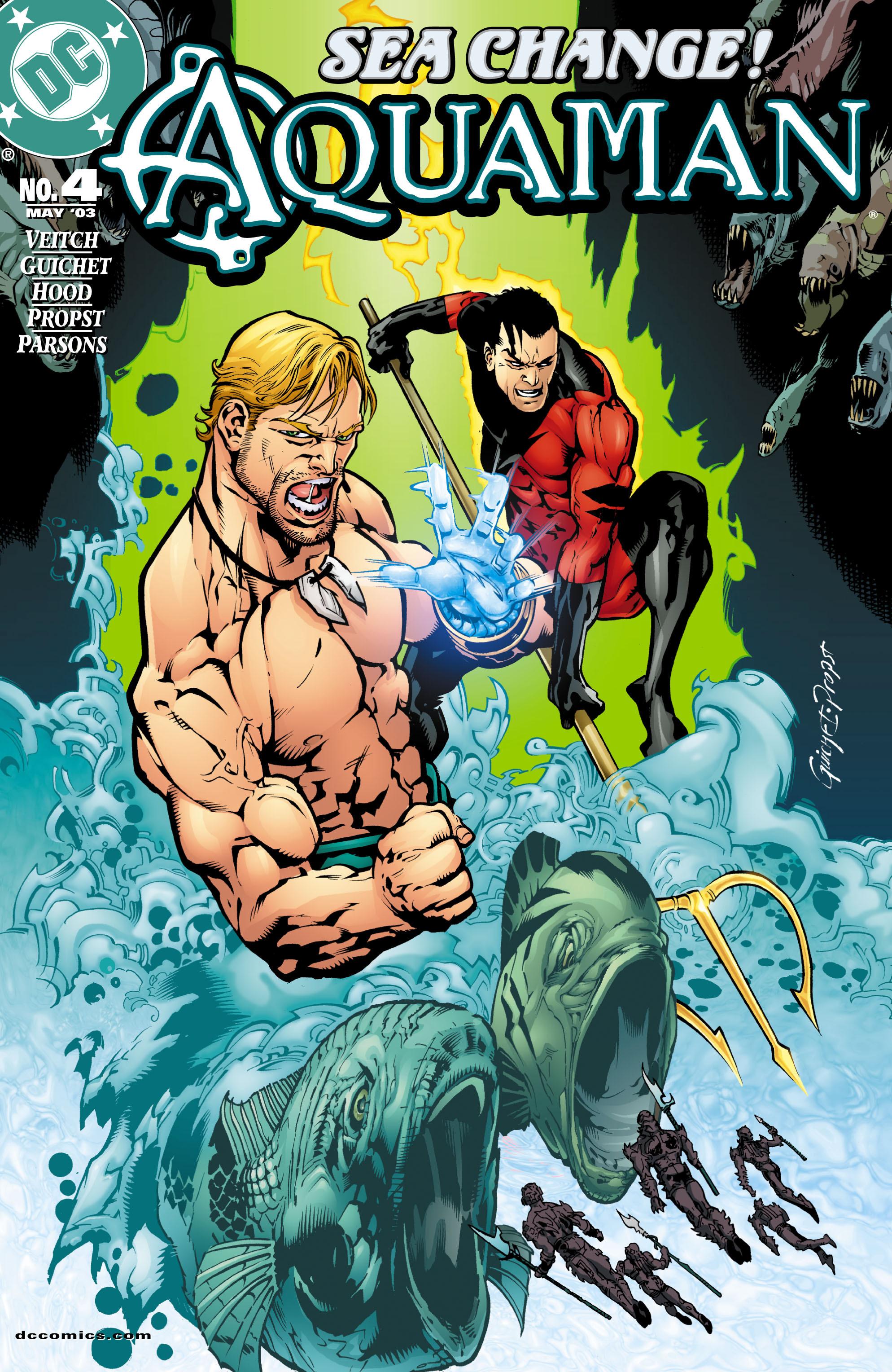 Read online Aquaman (2003) comic -  Issue #4 - 1