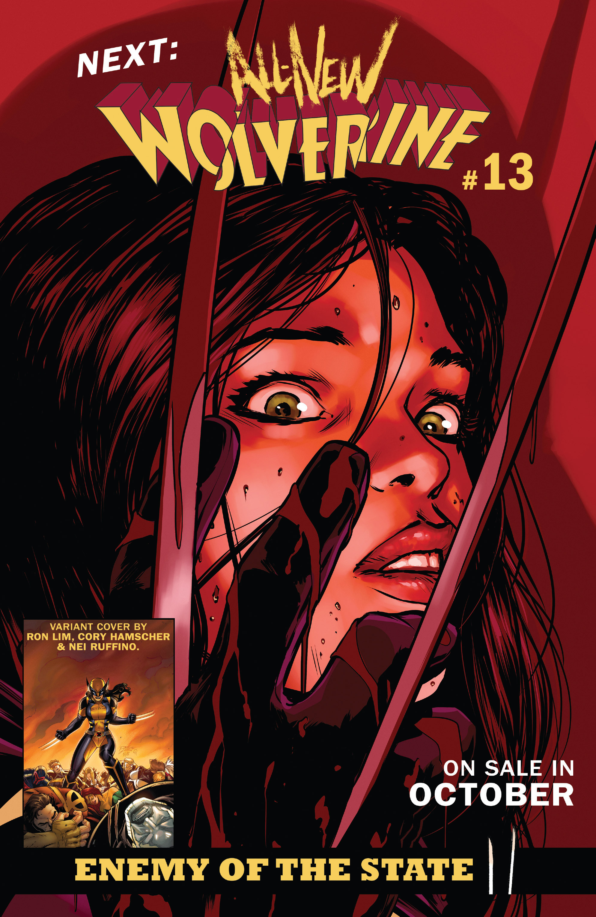 Read online All-New Wolverine (2016) comic -  Issue #12 - 22