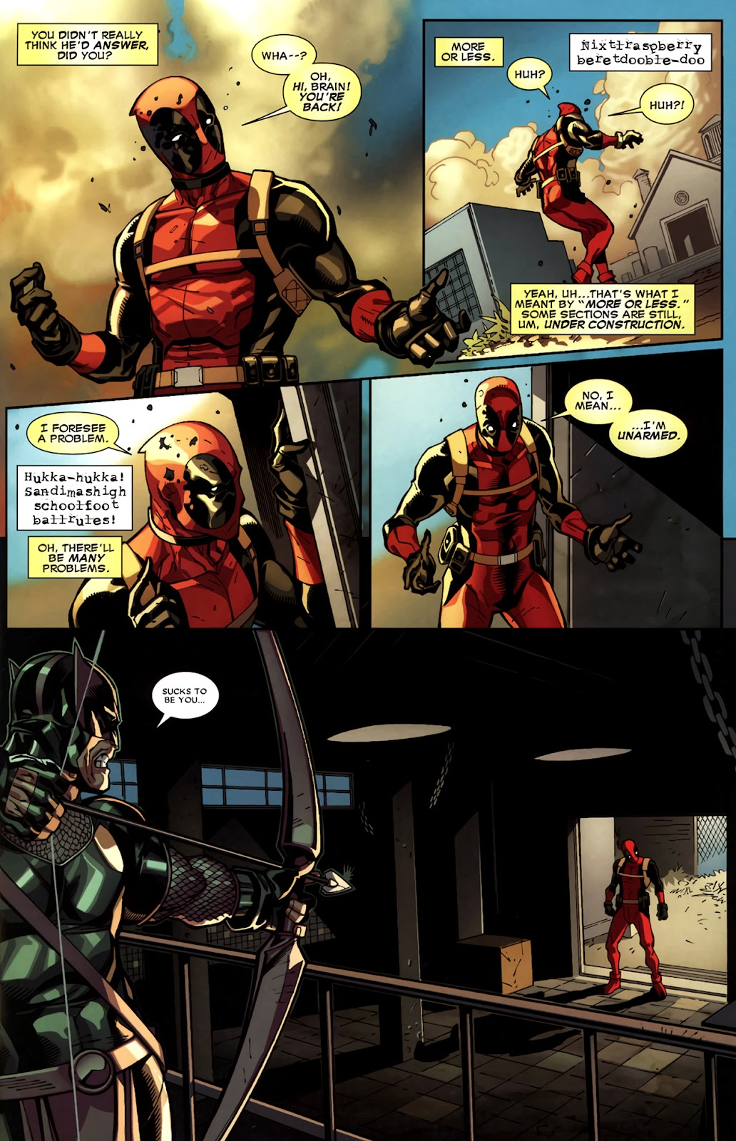 Read online Deadpool (2008) comic -  Issue #11 - 12