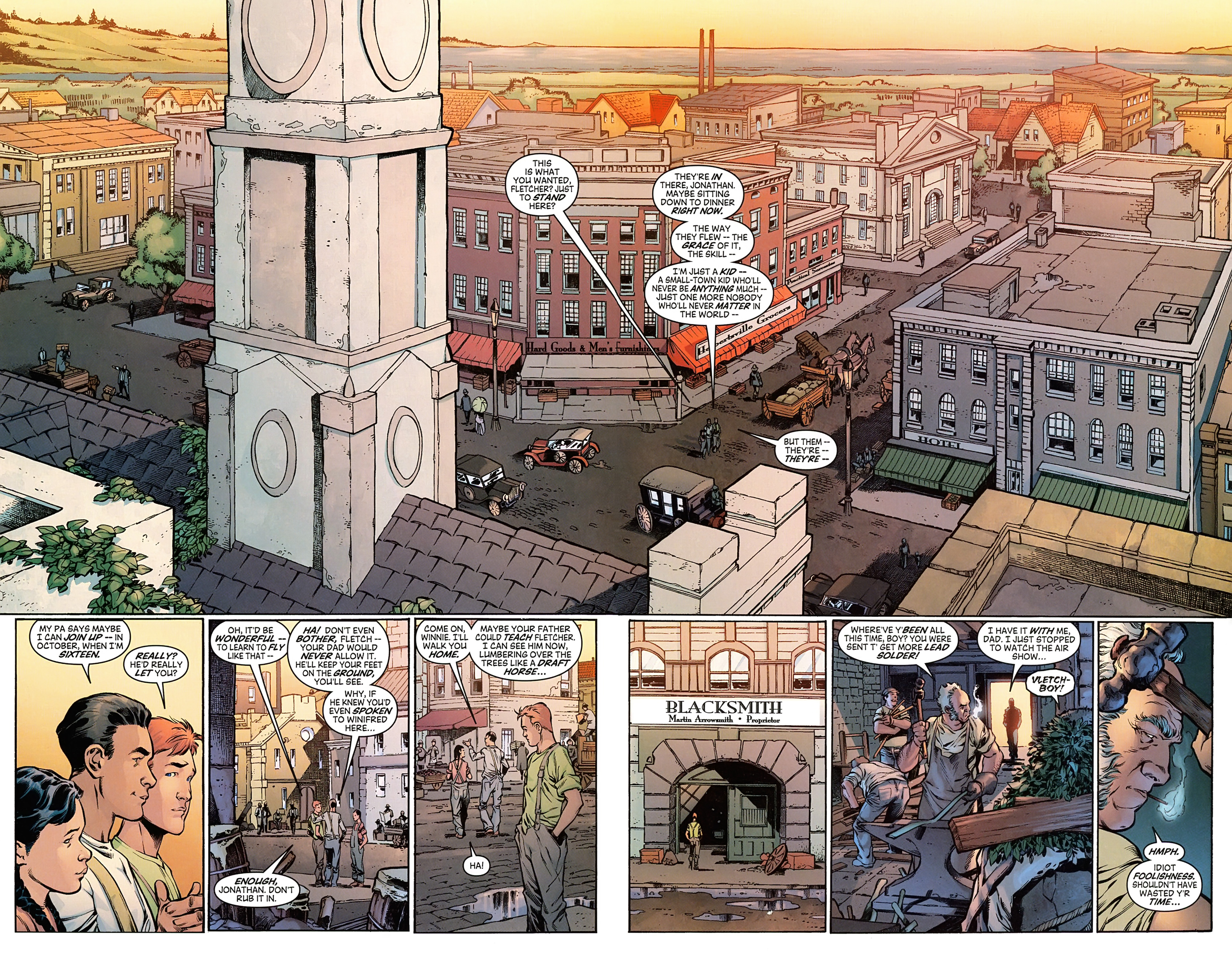 Read online Arrowsmith comic -  Issue #1 - 12