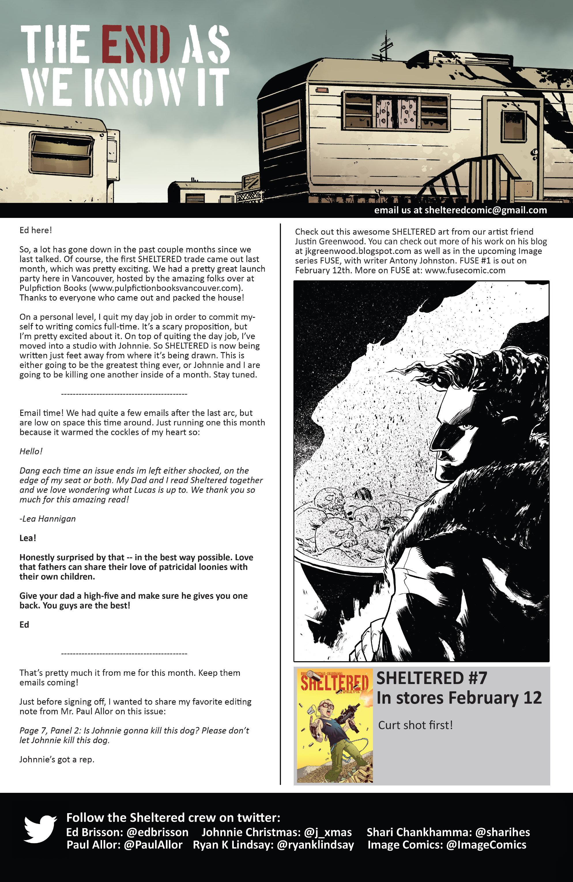 Read online Sheltered comic -  Issue #6 - 26