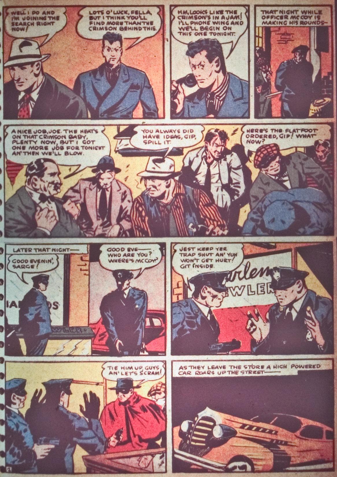 Read online Detective Comics (1937) comic -  Issue #26 - 29