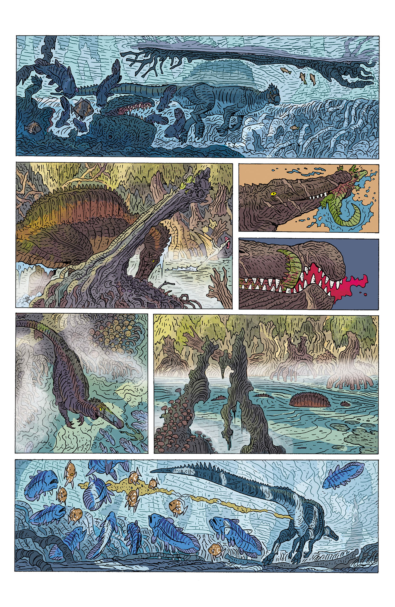 Read online Age of Reptiles: Ancient Egyptians comic -  Issue #1 - 8
