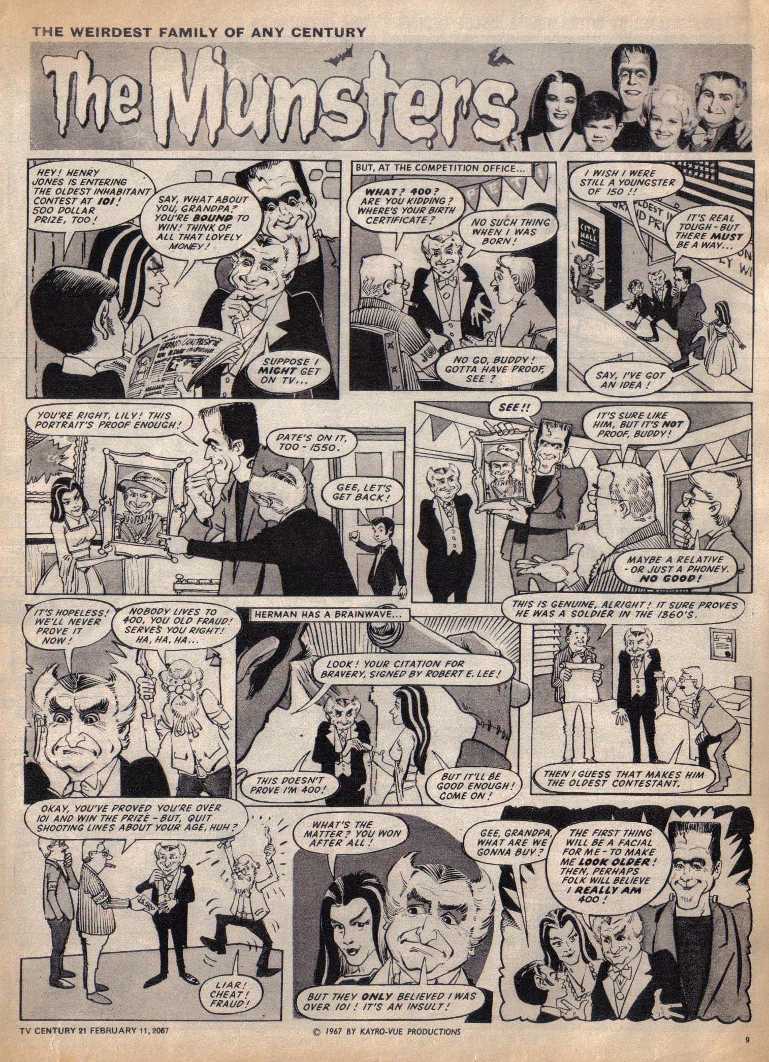 Read online TV Century 21 (TV 21) comic -  Issue #108 - 8