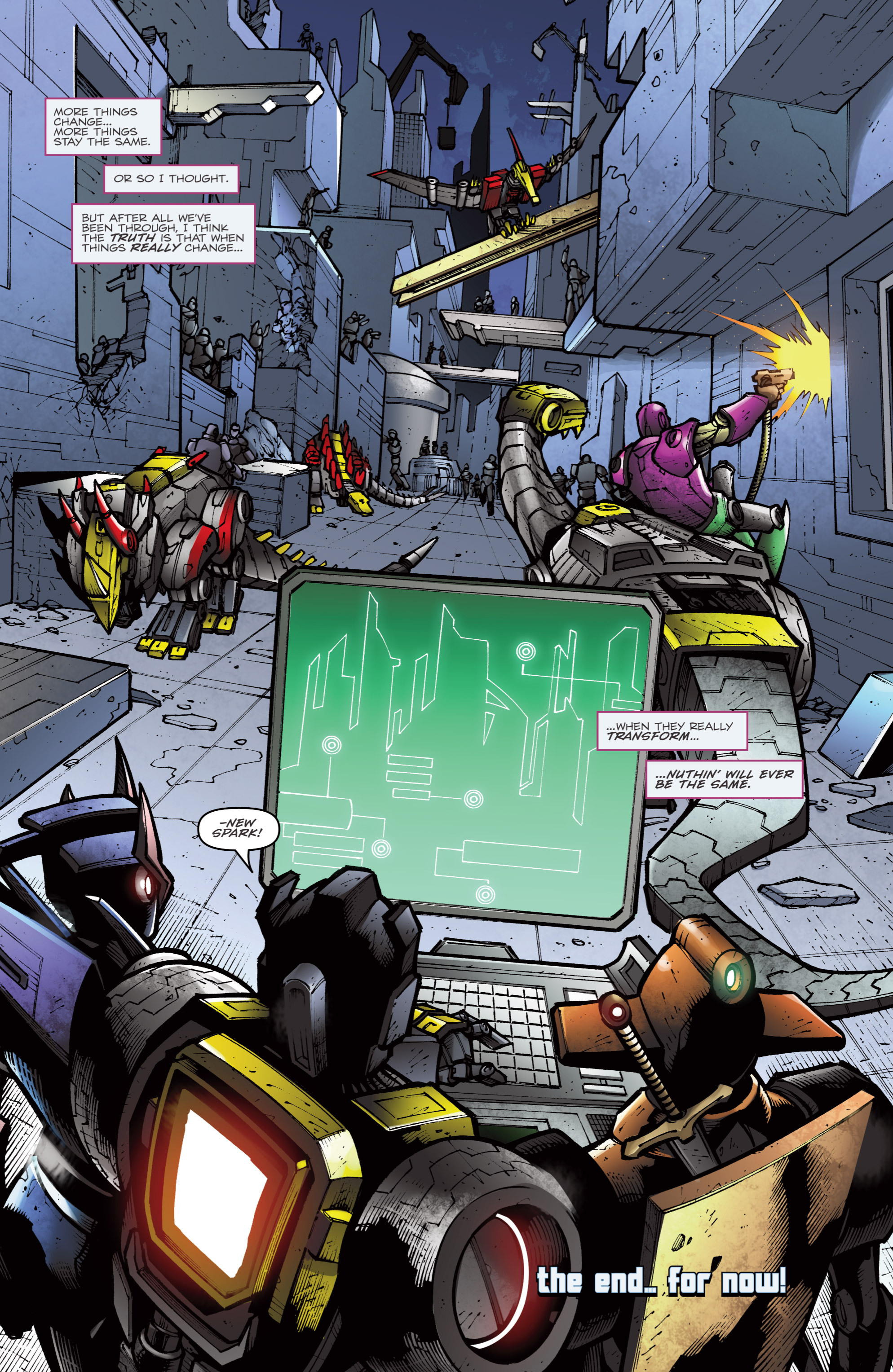 Read online Transformers Prime: Beast Hunters comic -  Issue #8 - 23