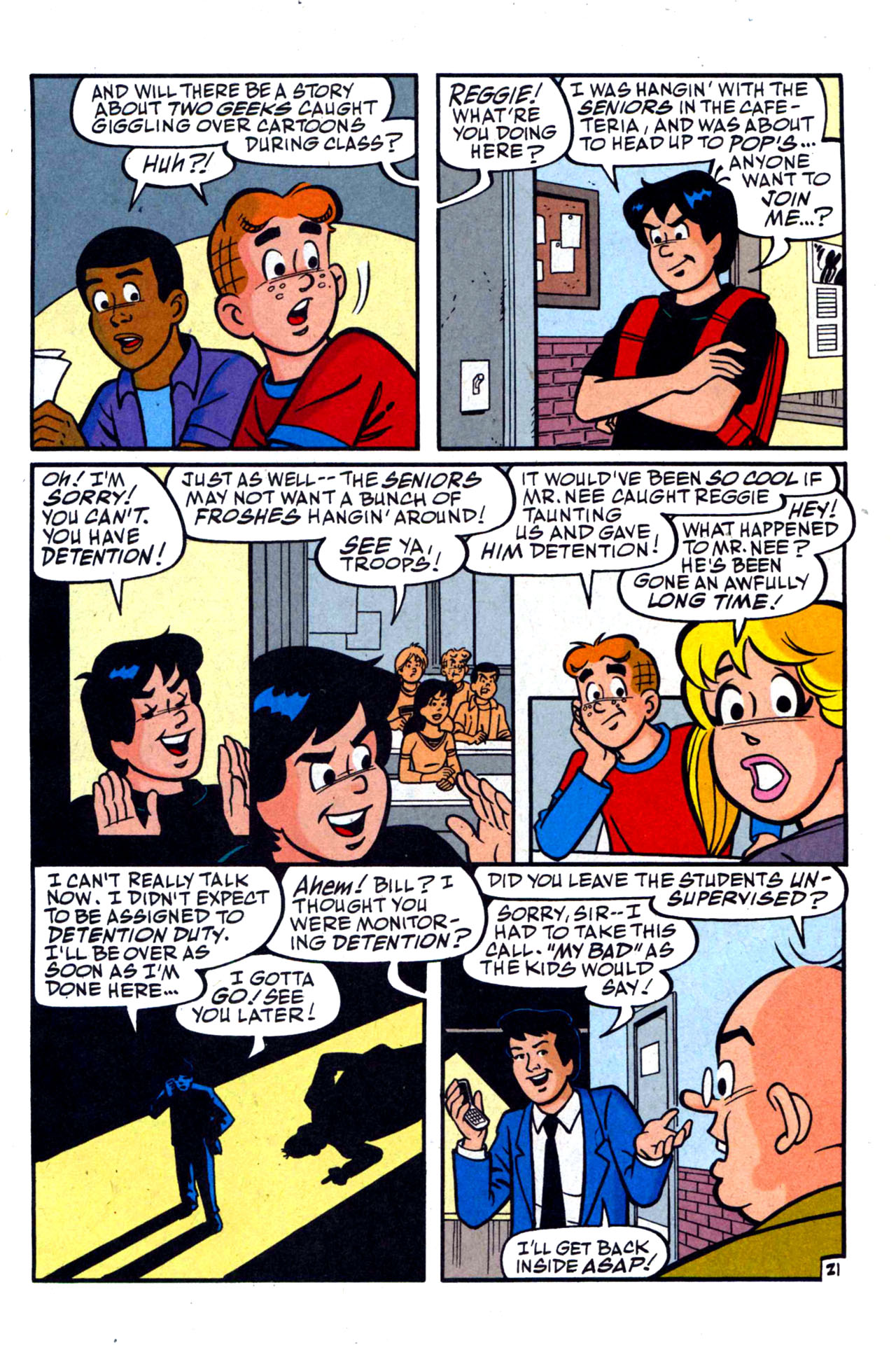 Read online Archie (1960) comic -  Issue #590 - 31