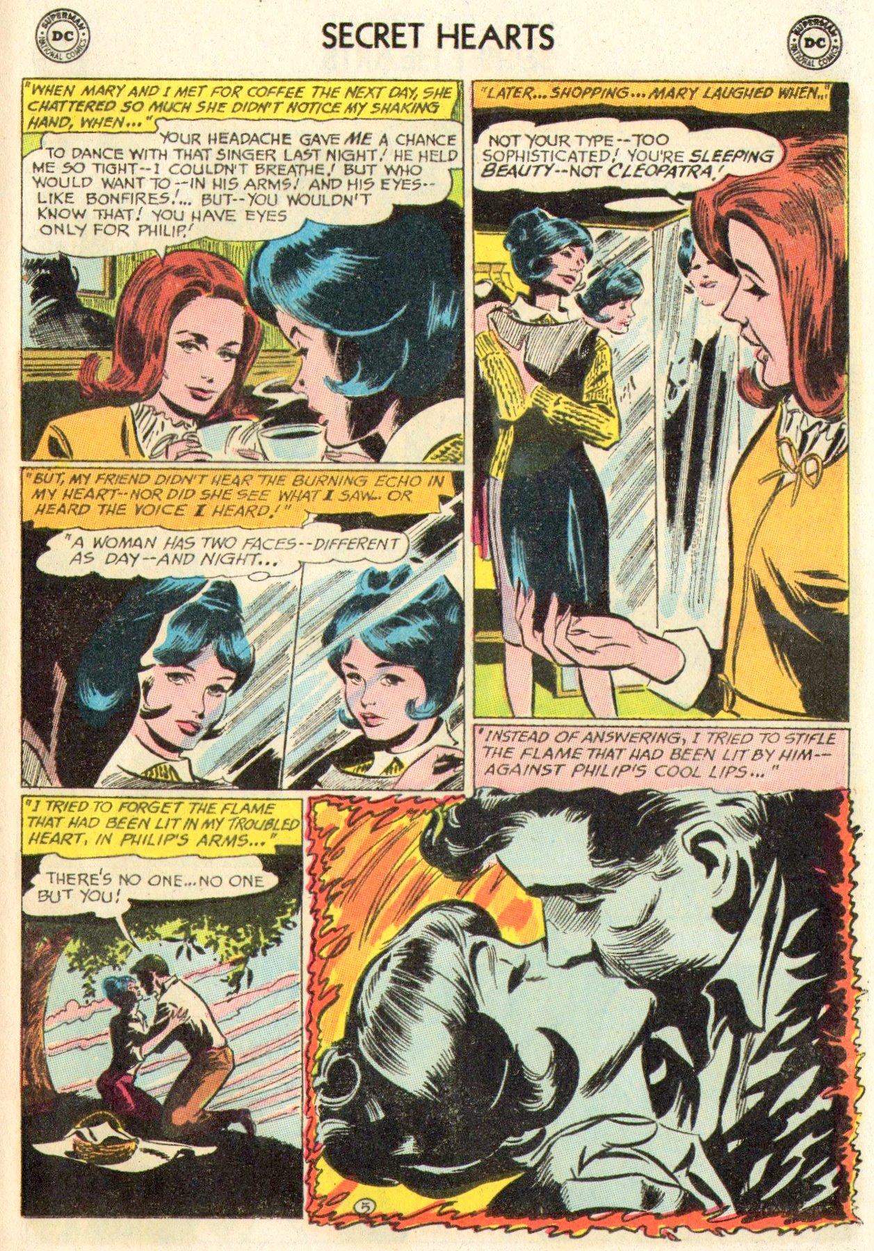 Read online Secret Hearts comic -  Issue #104 - 25