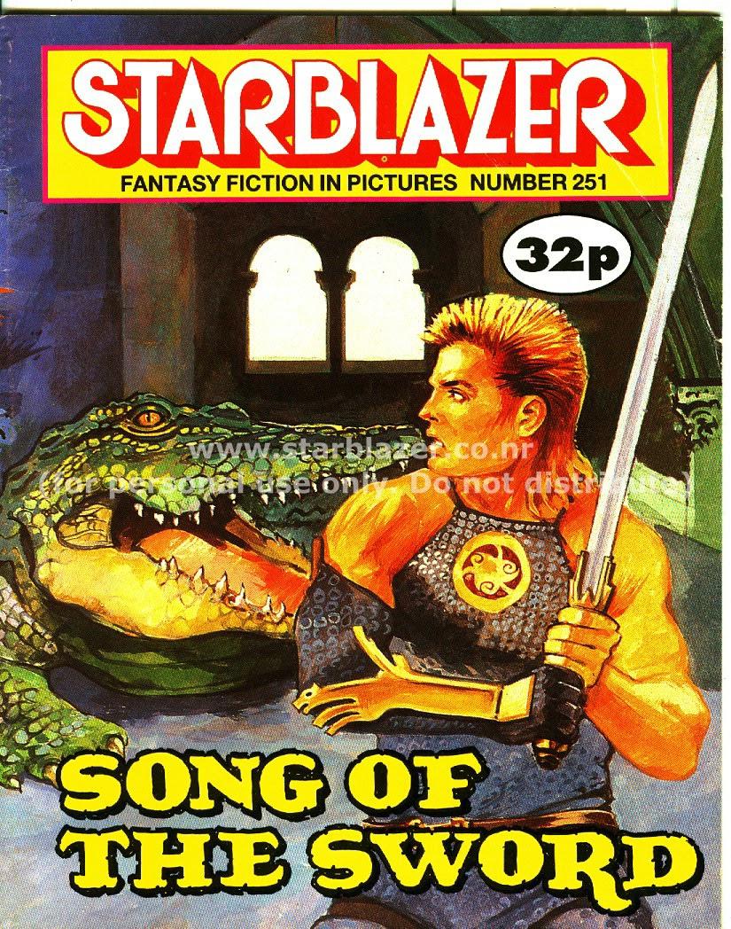 Starblazer issue 251 - Page 1