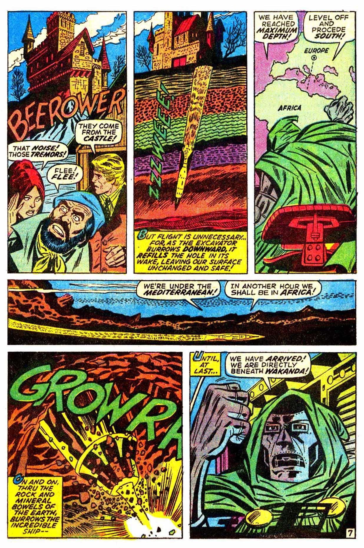 Read online Astonishing Tales (1970) comic -  Issue #6 - 8
