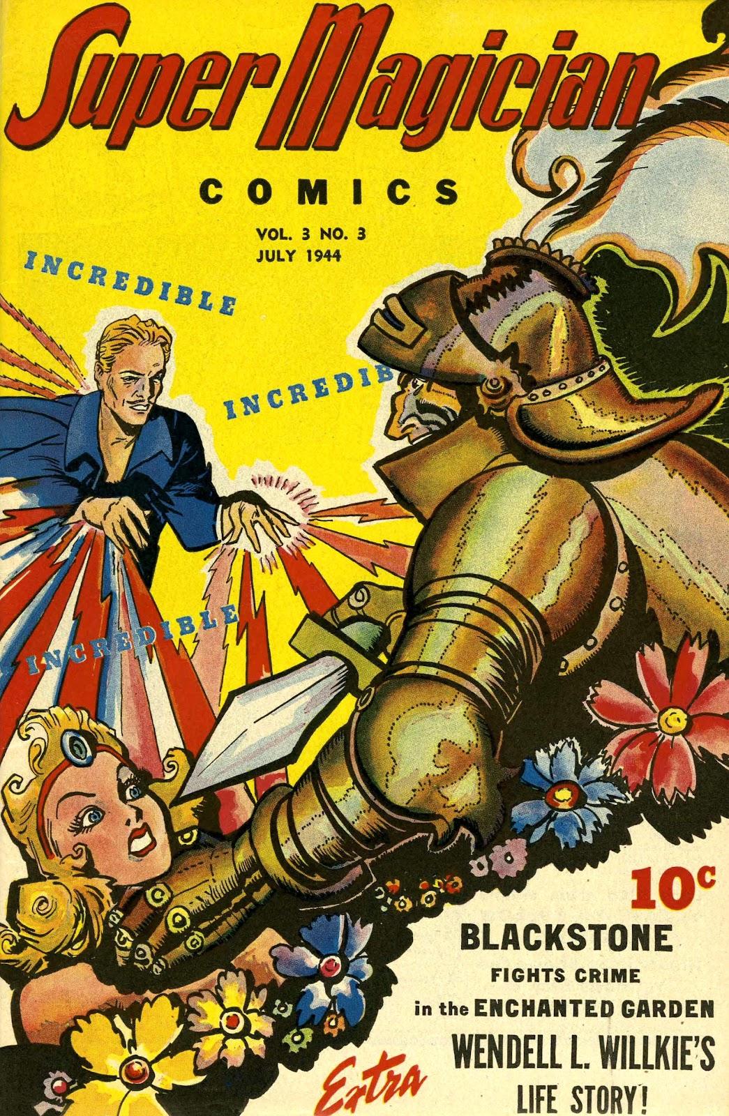 Super-Magician Comics issue 27 - Page 1