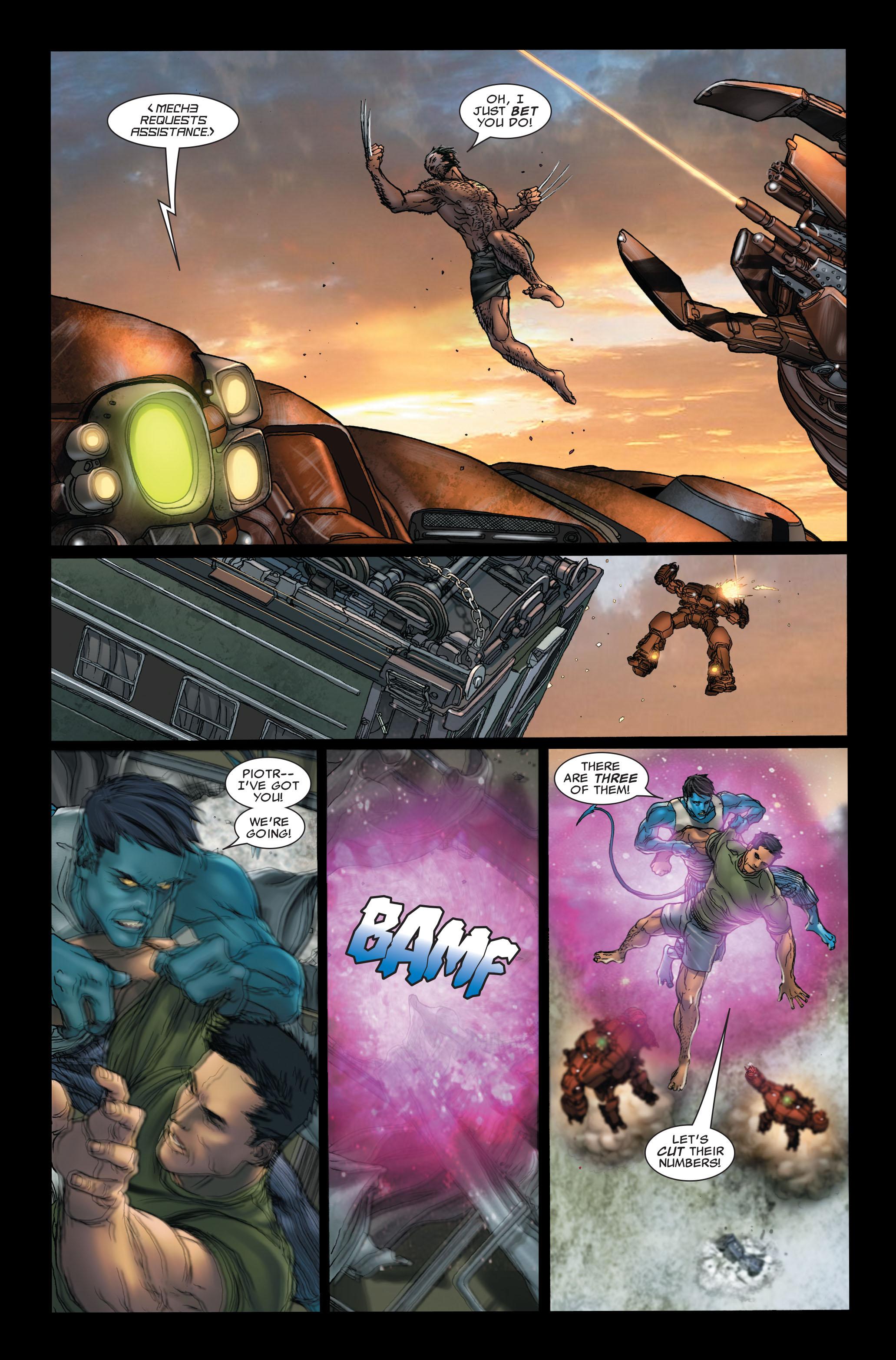Read online Uncanny X-Men (1963) comic -  Issue #497 - 6