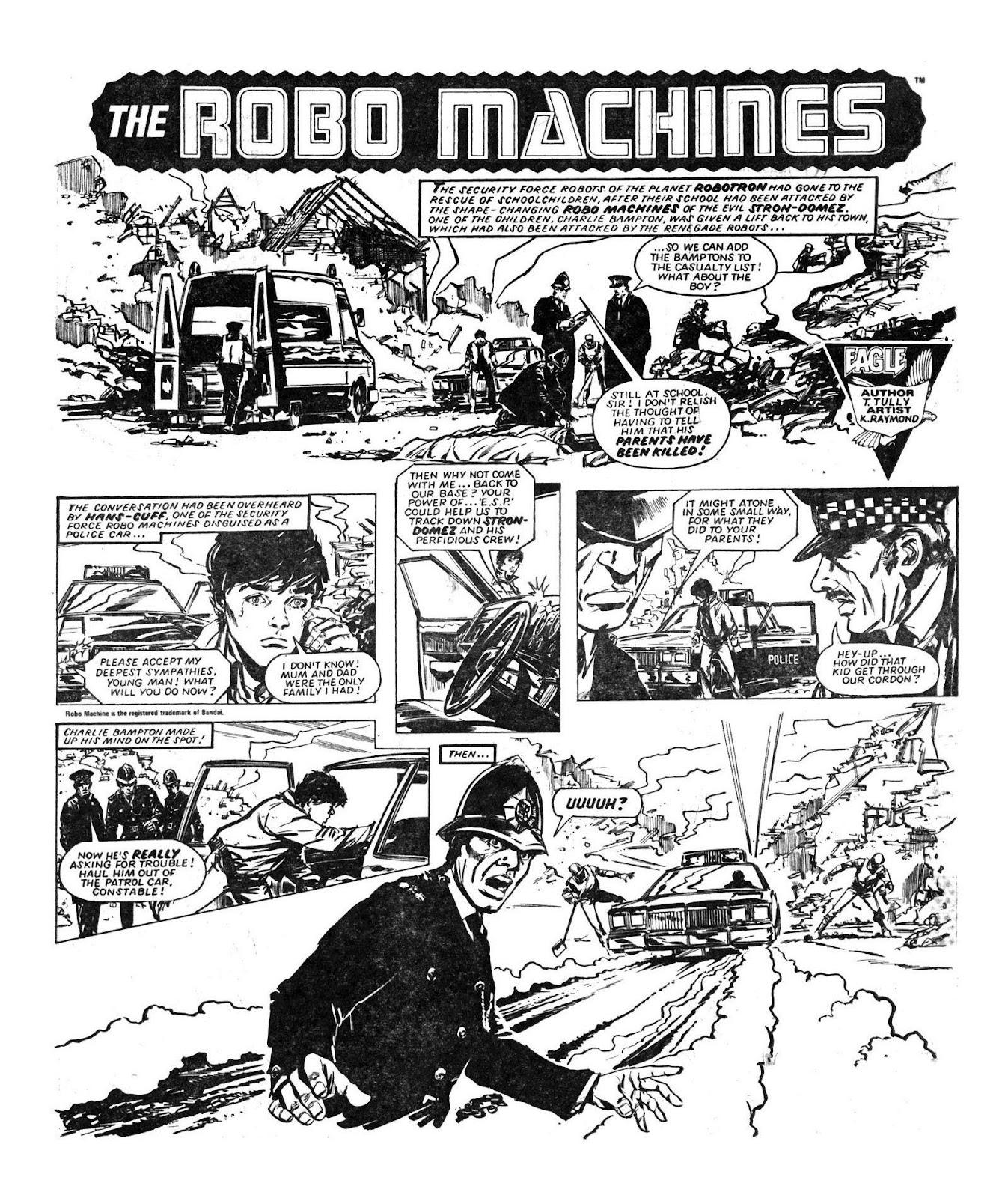 Read online Robo Machines comic -  Issue # TPB - 33