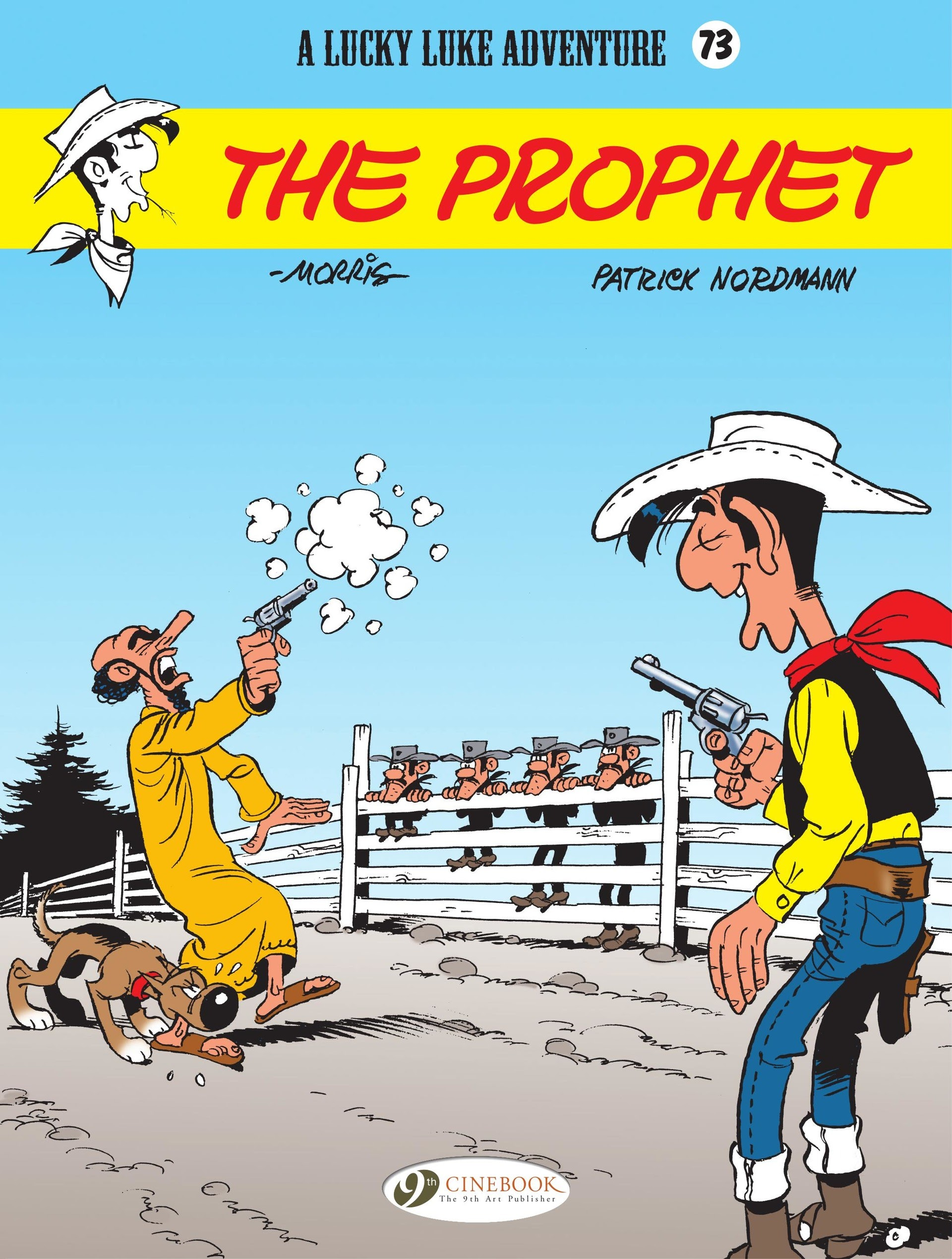 A Lucky Luke Adventure 73 Page 1