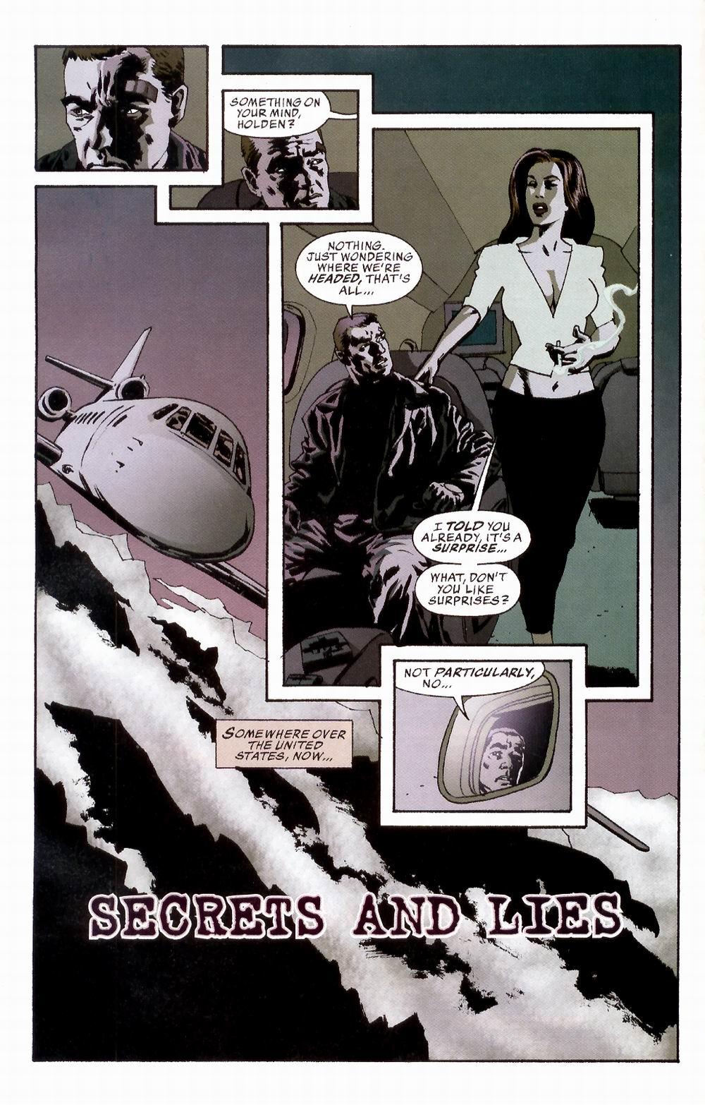 Read online Sleeper comic -  Issue #3 - 6