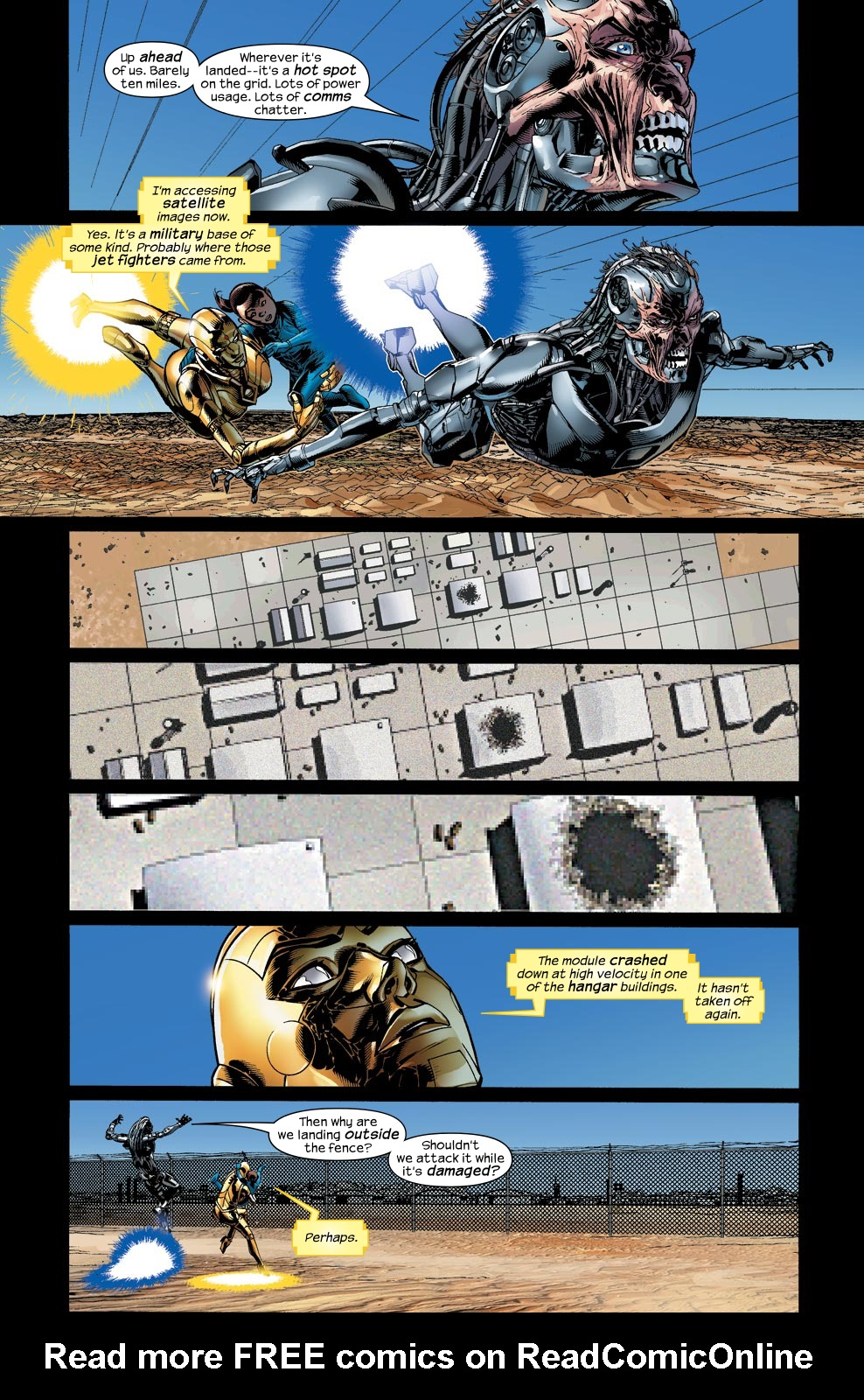 Read online Ultimate Vision comic -  Issue #4 - 18