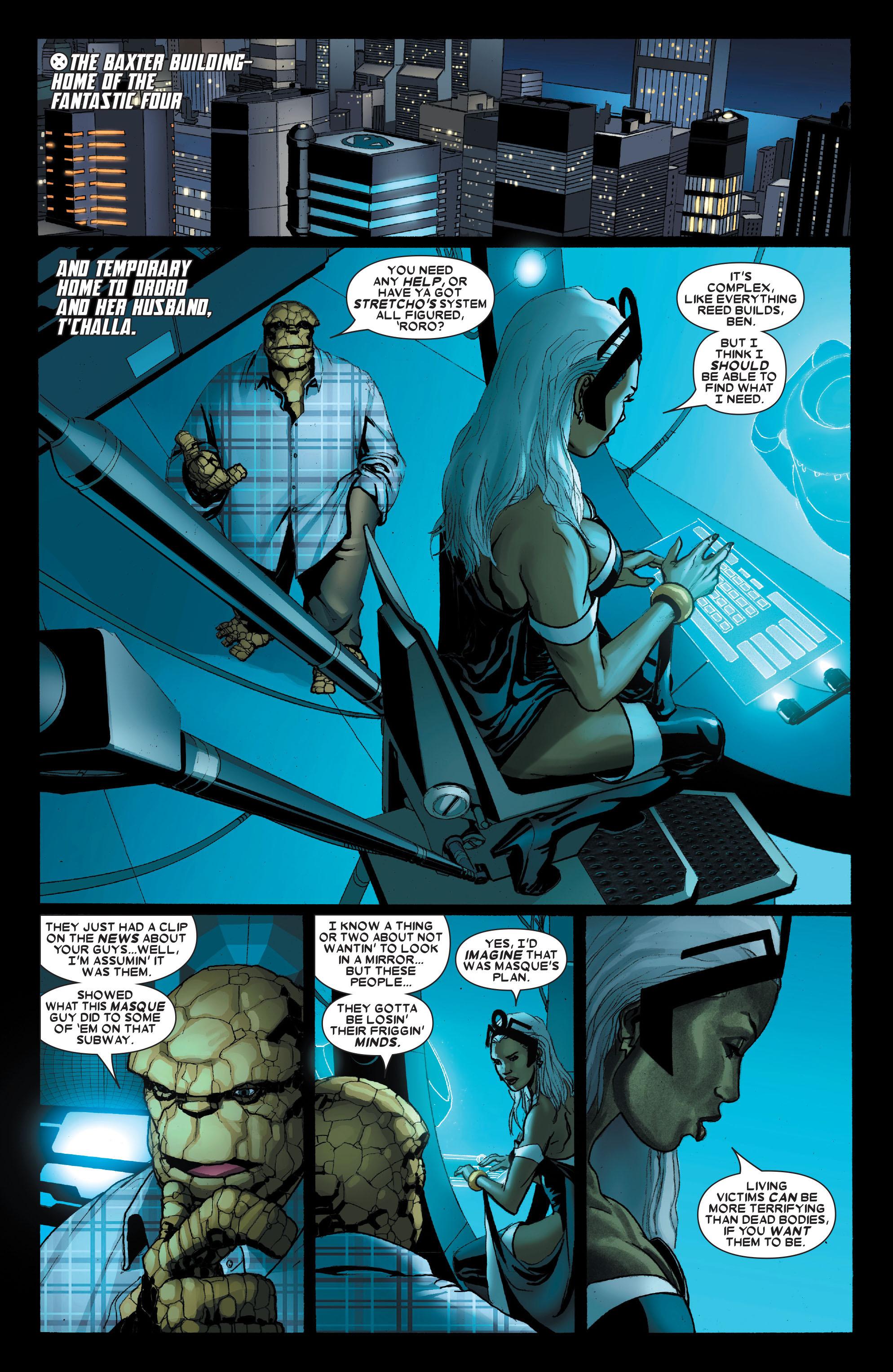 Read online Uncanny X-Men (1963) comic -  Issue #489 - 5