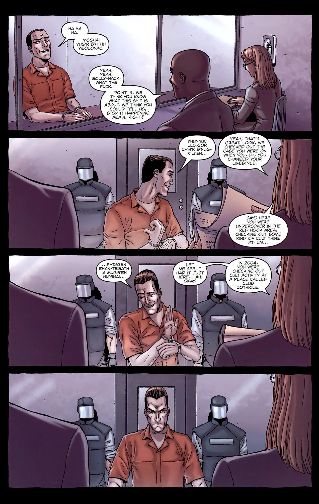 Read online Alan Moore's Neonomicon comic -  Issue #1 - 17