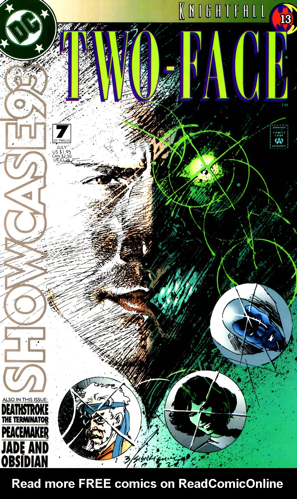 Read online Showcase '93 comic -  Issue #7 - 1