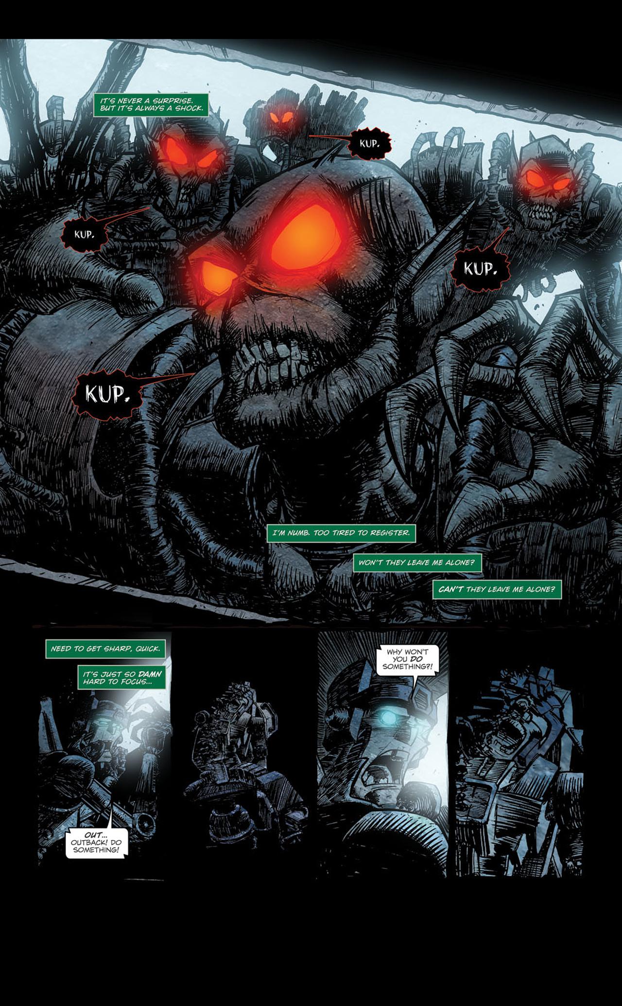 Read online Transformers Spotlight: Kup comic -  Issue # Full - 12