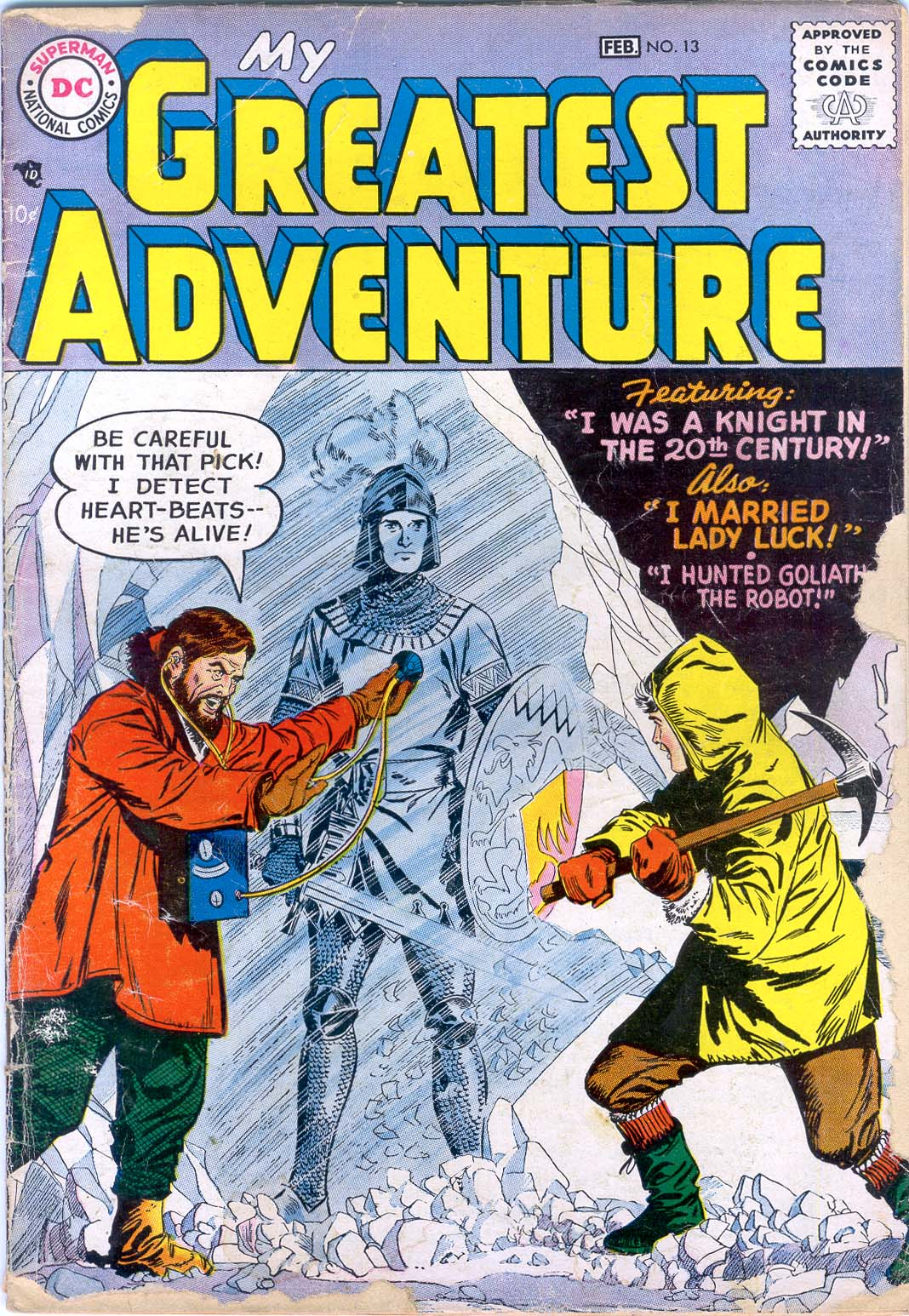 My Greatest Adventure (1955) issue 13 - Page 1