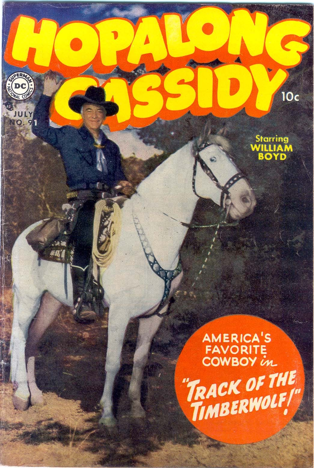 Hopalong Cassidy issue 91 - Page 1