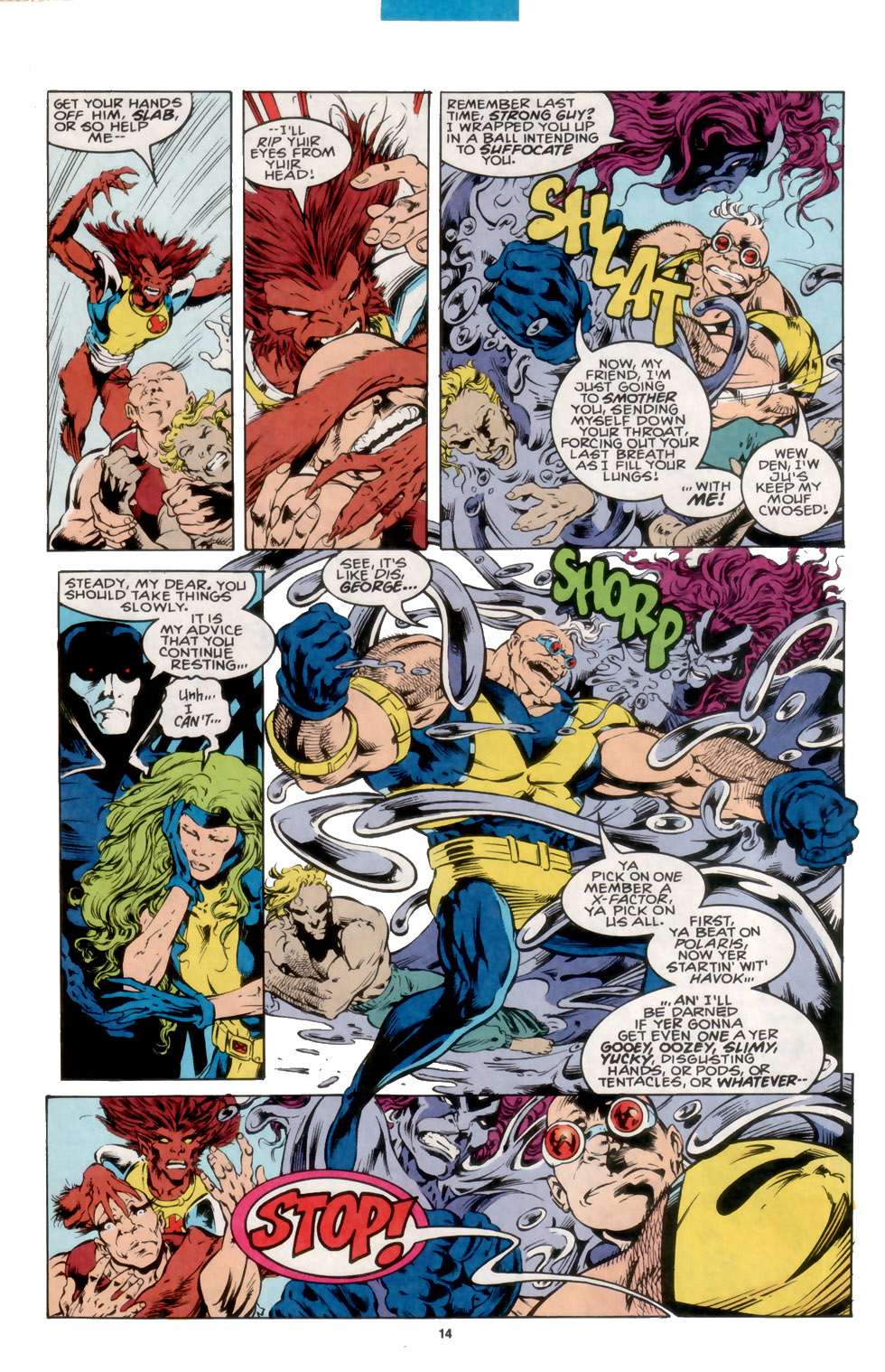 Read online X-Factor (1986) comic -  Issue #105 - 11