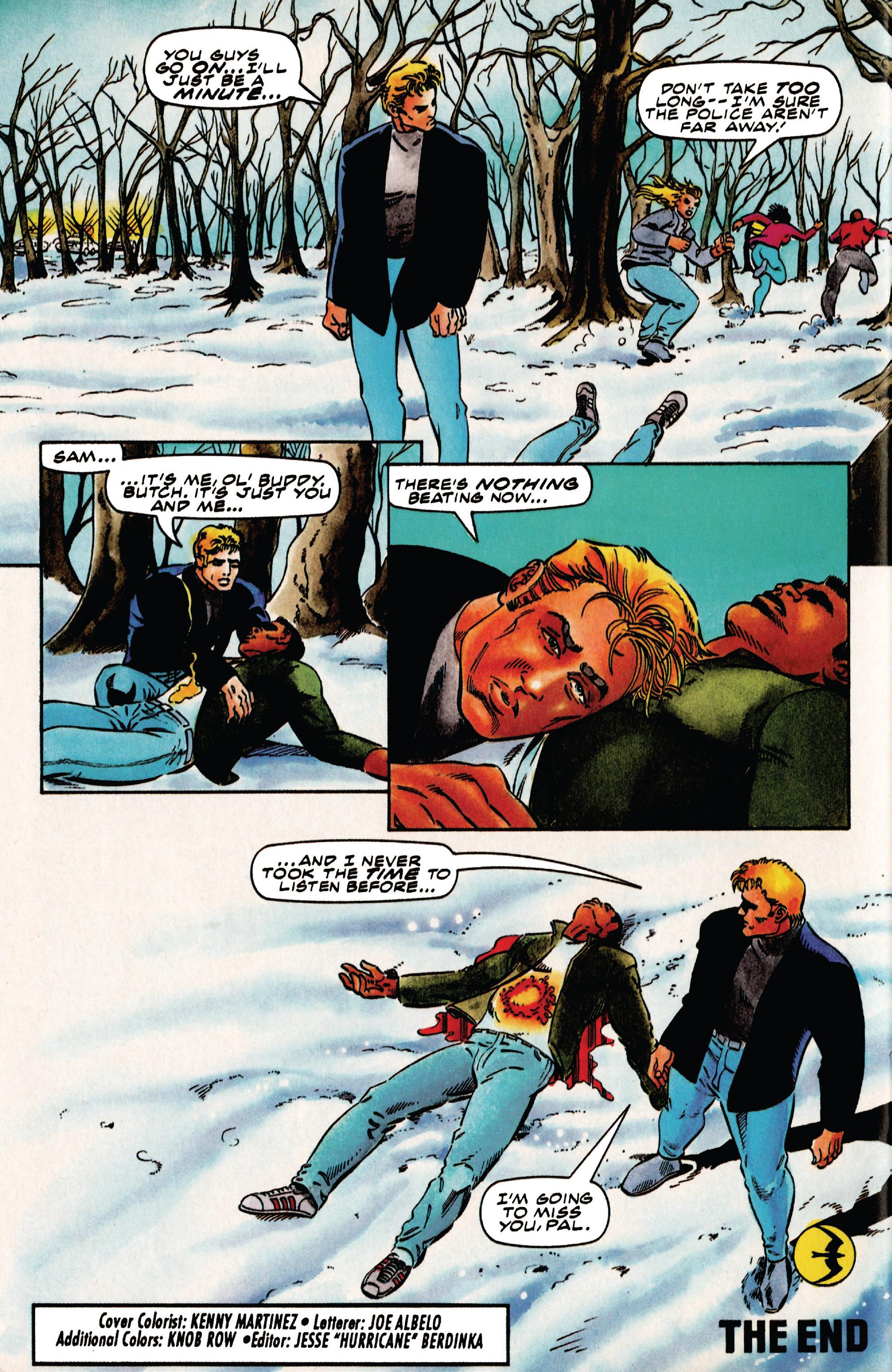 Read online Harbinger (1992) comic -  Issue #41 - 21