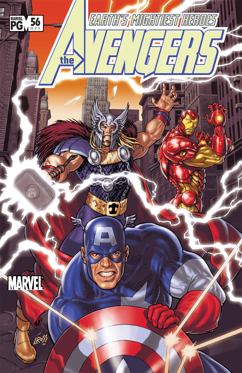 Read online Avengers (1998) comic -  Issue #56 - 1