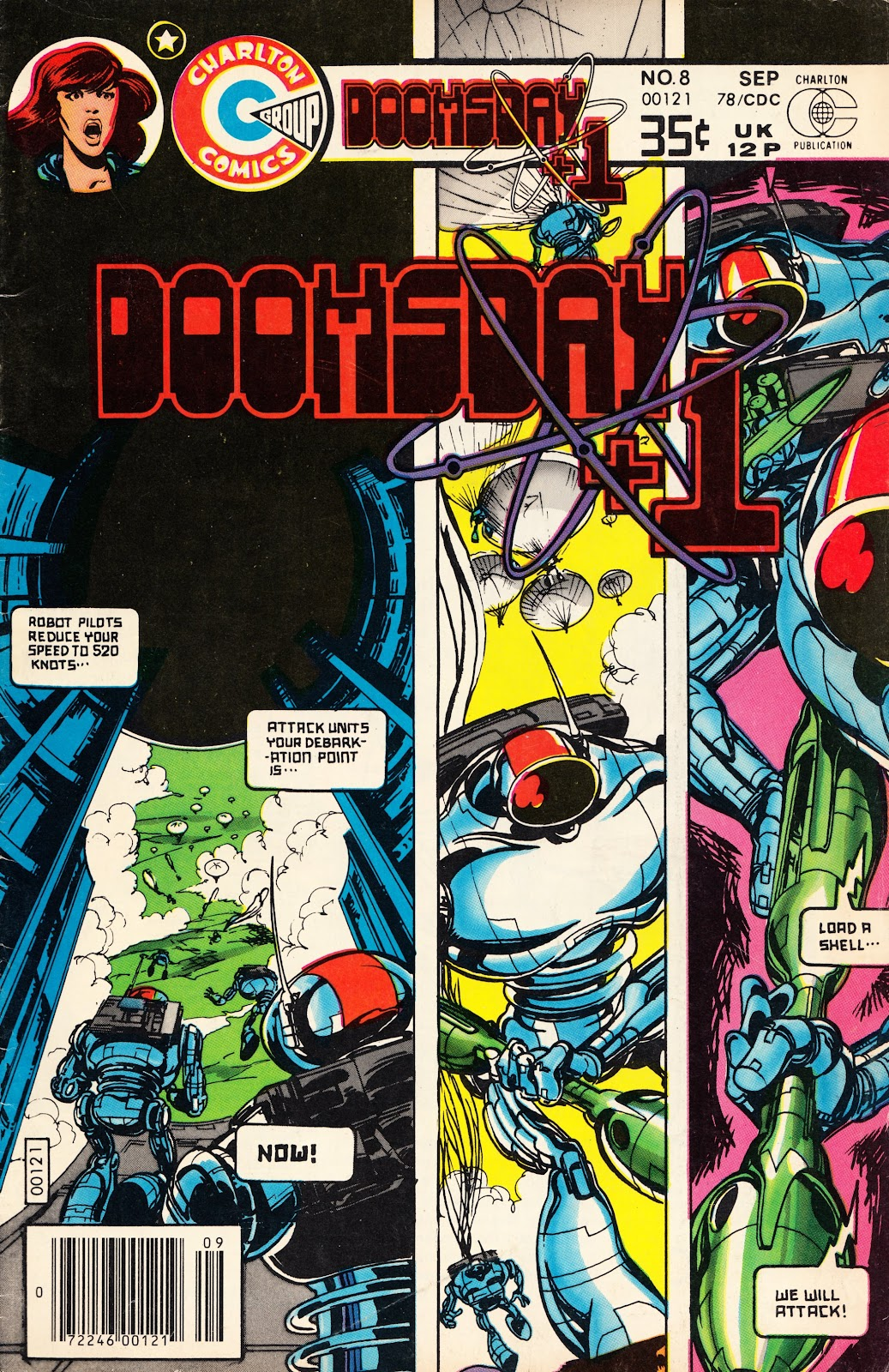 Read online Doomsday   1 (1975) comic -  Issue #8 - 1