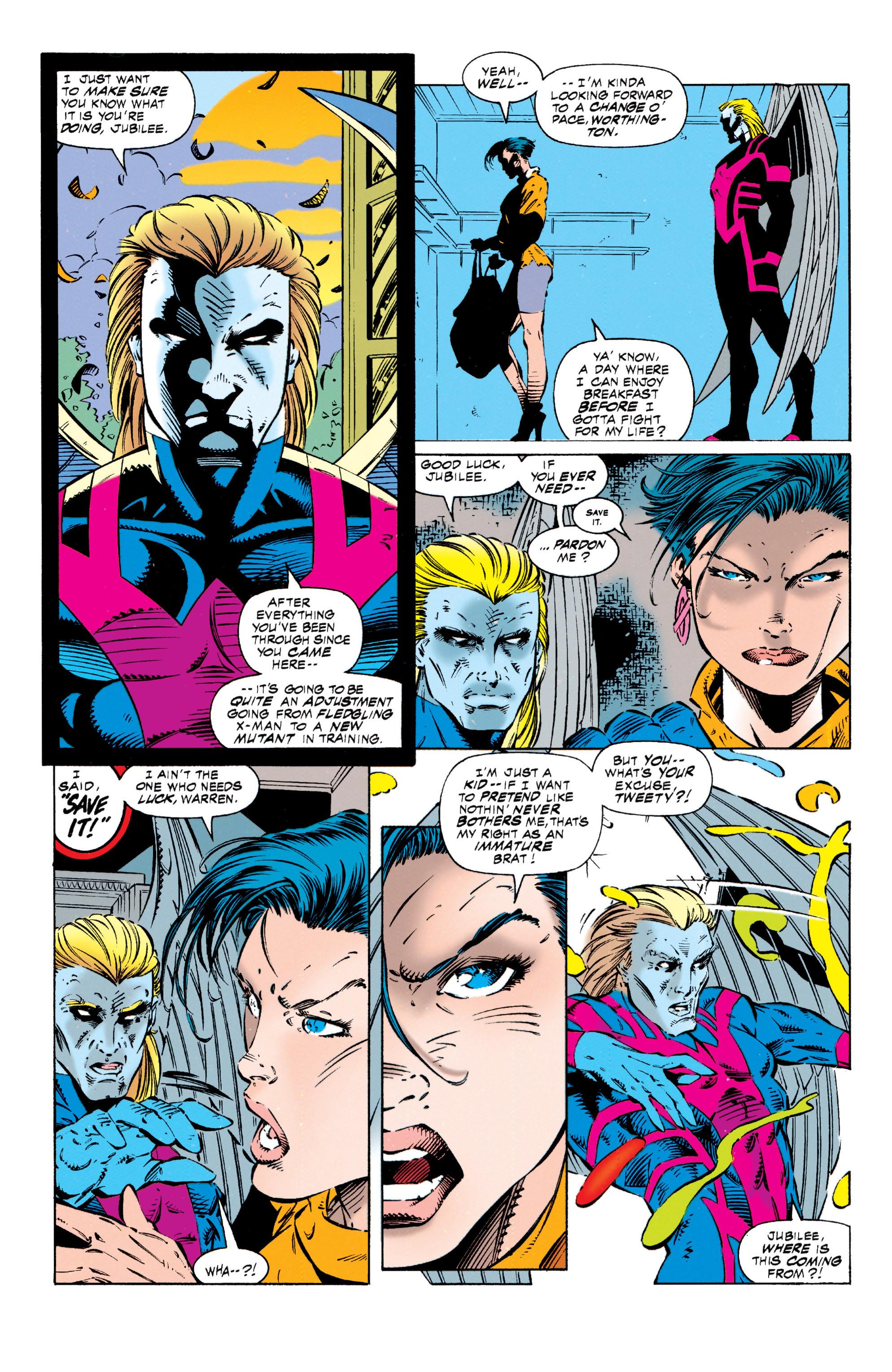 Read online Uncanny X-Men (1963) comic -  Issue #318 - 18