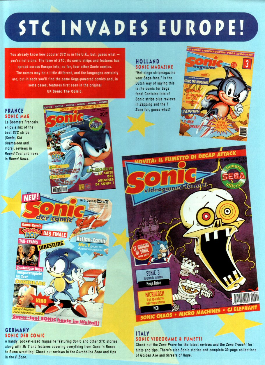 Read online Sonic the Comic comic -  Issue #34 - 19
