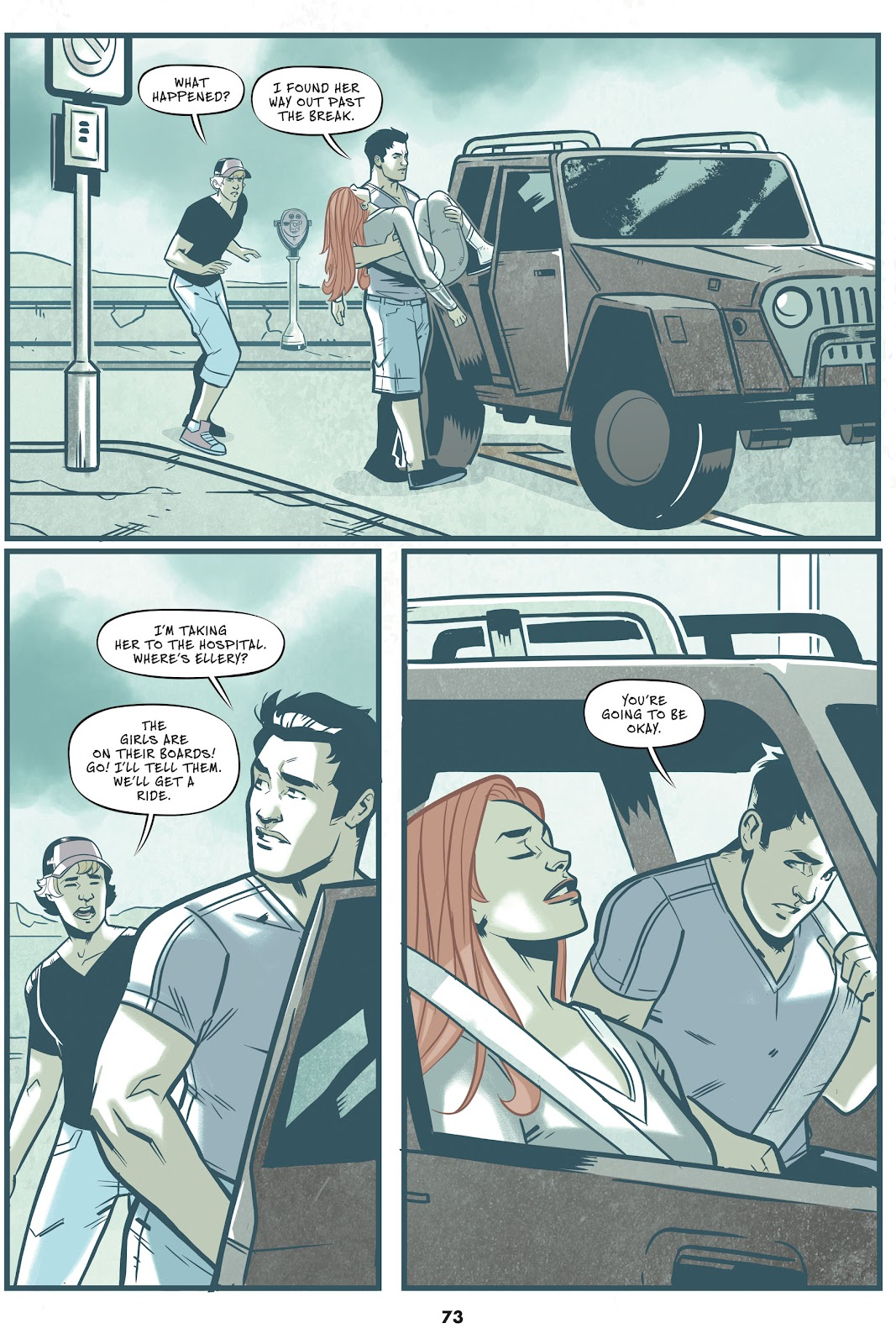 Read online Mera: Tidebreaker comic -  Issue # TPB (Part 1) - 73