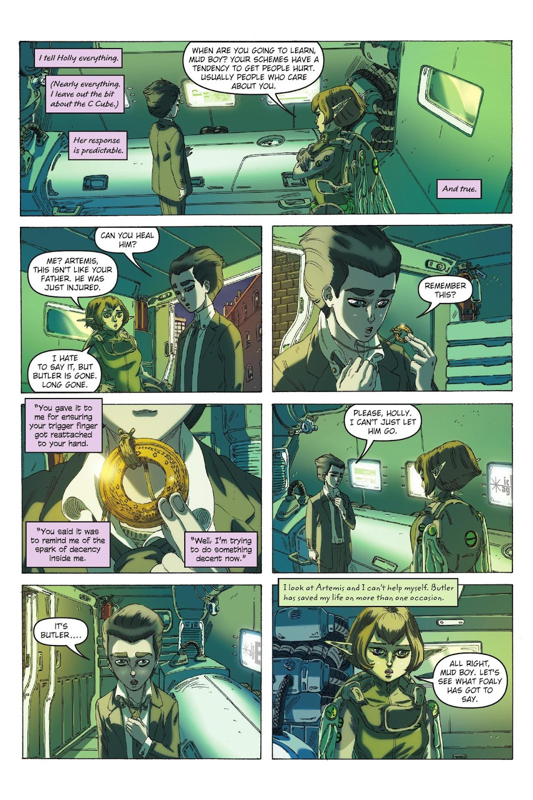 Artemis Fowl: The Eternity Code issue TPB - Page 36