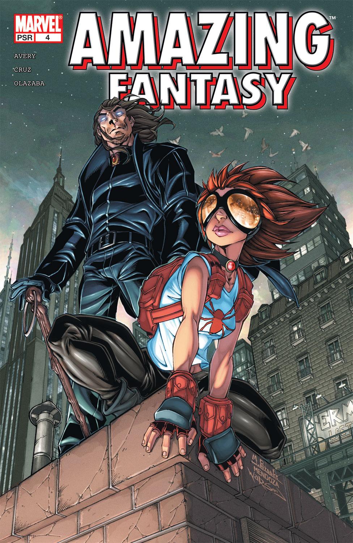 Read online Amazing Fantasy (2004) comic -  Issue #4 - 1