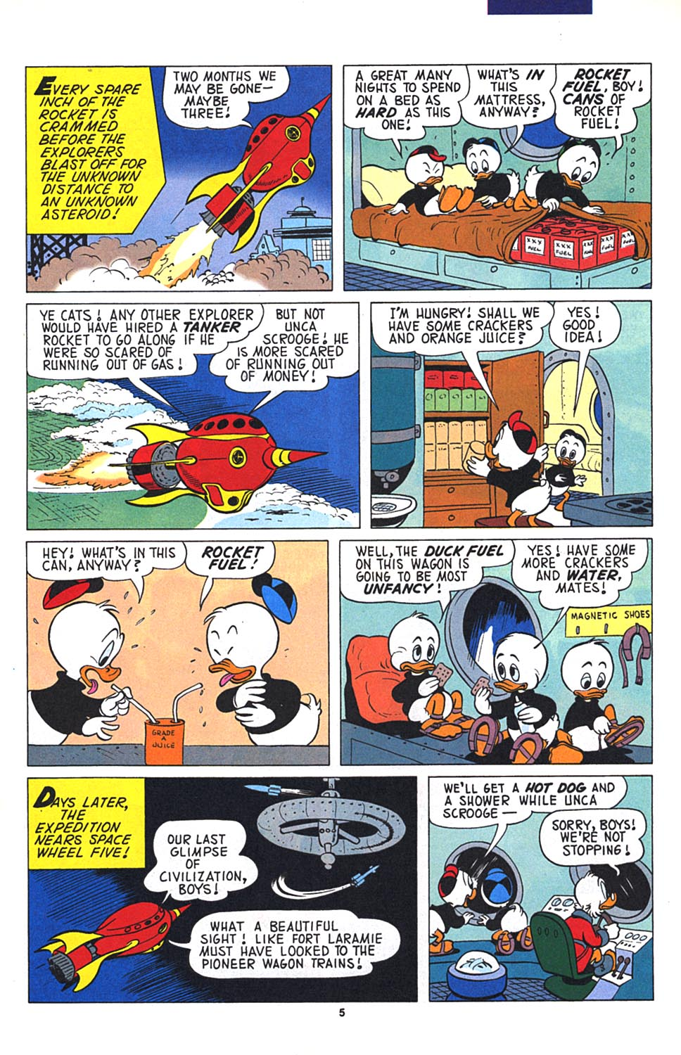 Read online Uncle Scrooge (1953) comic -  Issue #268 - 6