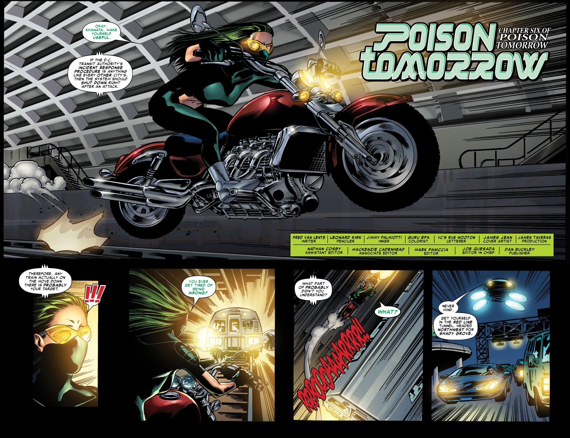 Read online Amazing Fantasy (2004) comic -  Issue #12 - 4