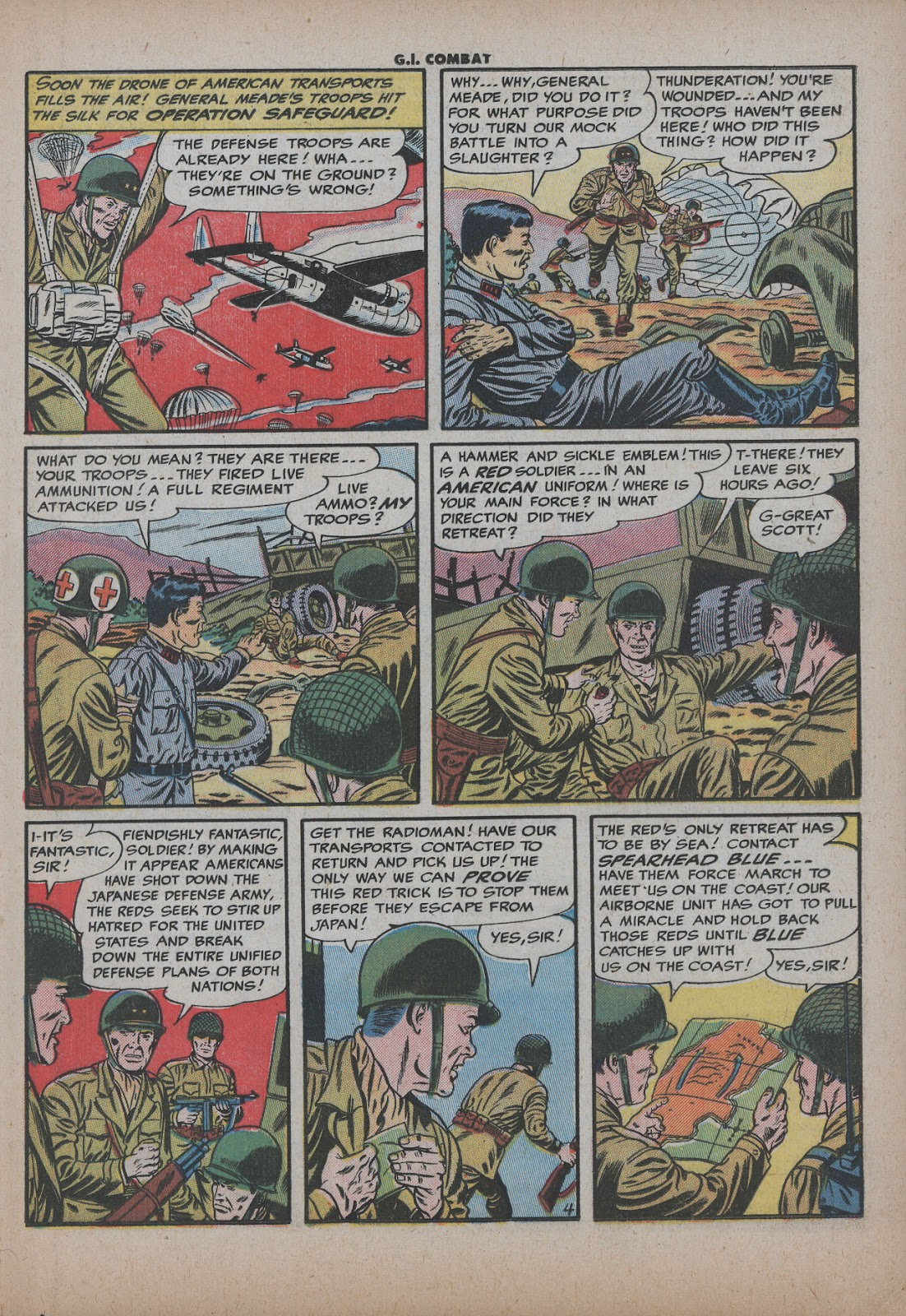 G.I. Combat (1952) issue 26 - Page 21