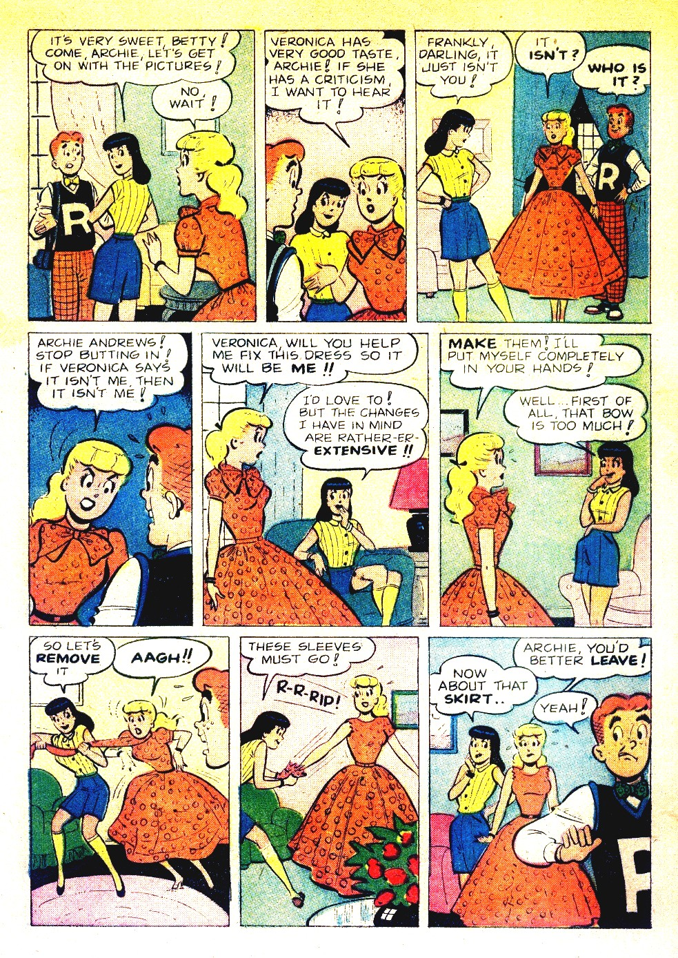 Read online Archie's Girls Betty and Veronica comic -  Issue #27 - 5
