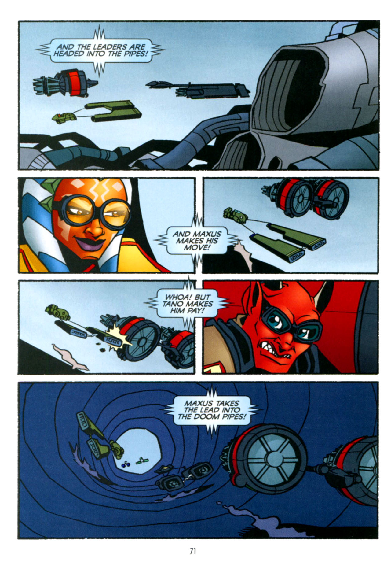 Read online Star Wars: The Clone Wars - Crash Course comic -  Issue # Full - 72