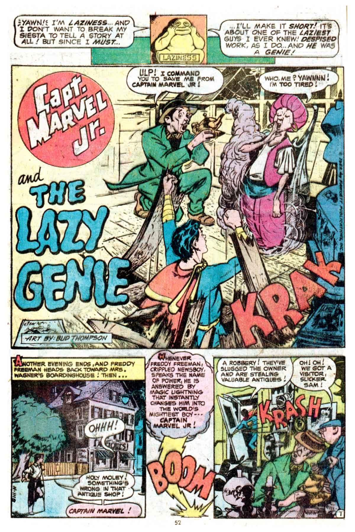 Read online Shazam! (1973) comic -  Issue #16 - 52