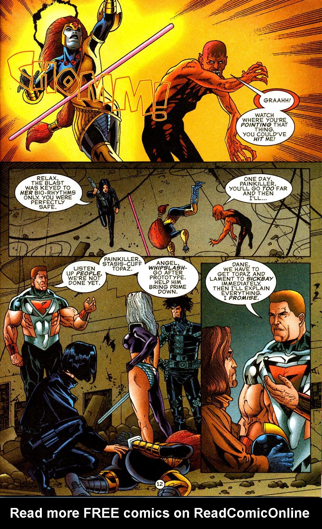 Read online UltraForce (1995) comic -  Issue #9 - 12