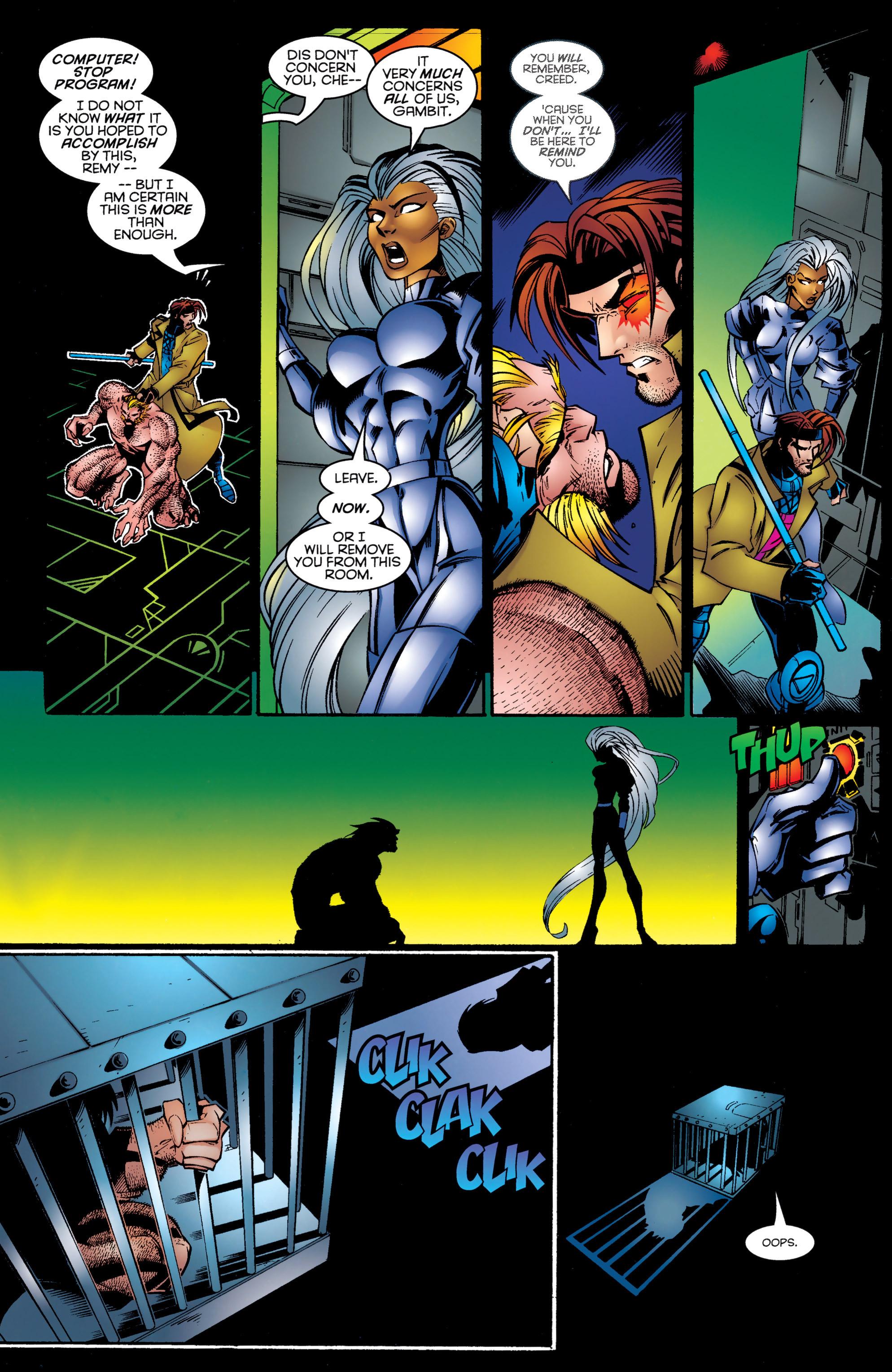 Read online Uncanny X-Men (1963) comic -  Issue #326 - 20