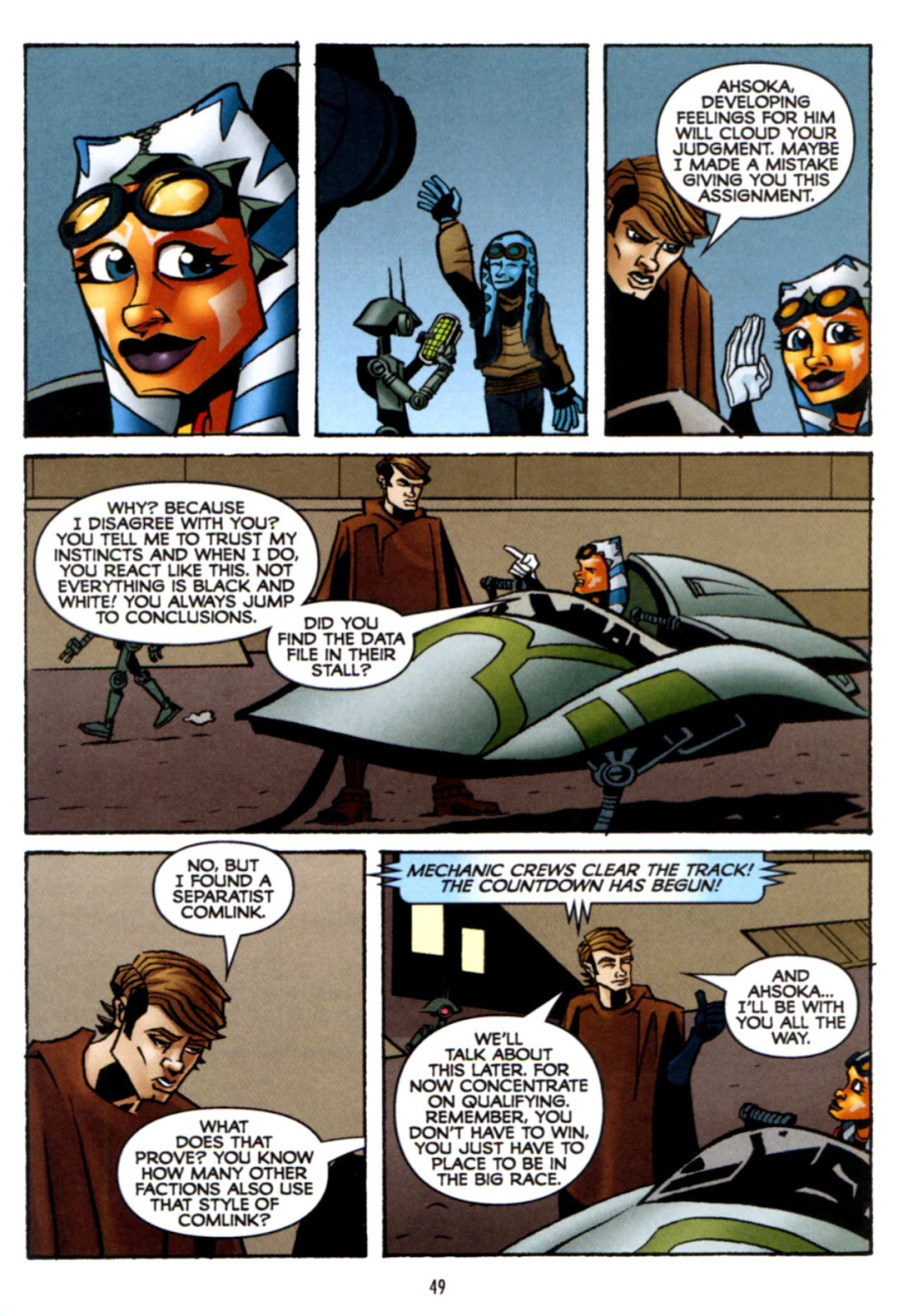 Comic Star Wars: The Clone Wars - Crash Course issue 1