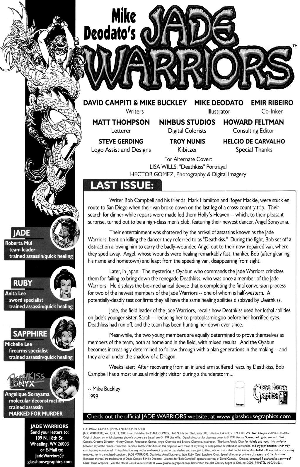 Read online Jade Warriors comic -  Issue #2 - 2