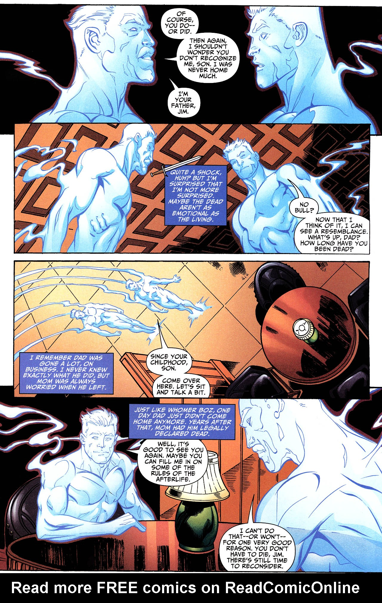 Read online Shadowpact comic -  Issue #12 - 16
