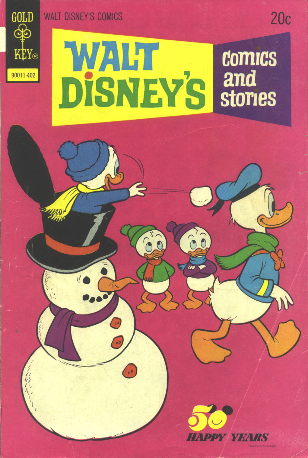 Walt Disney's Comics and Stories issue 401 - Page 1