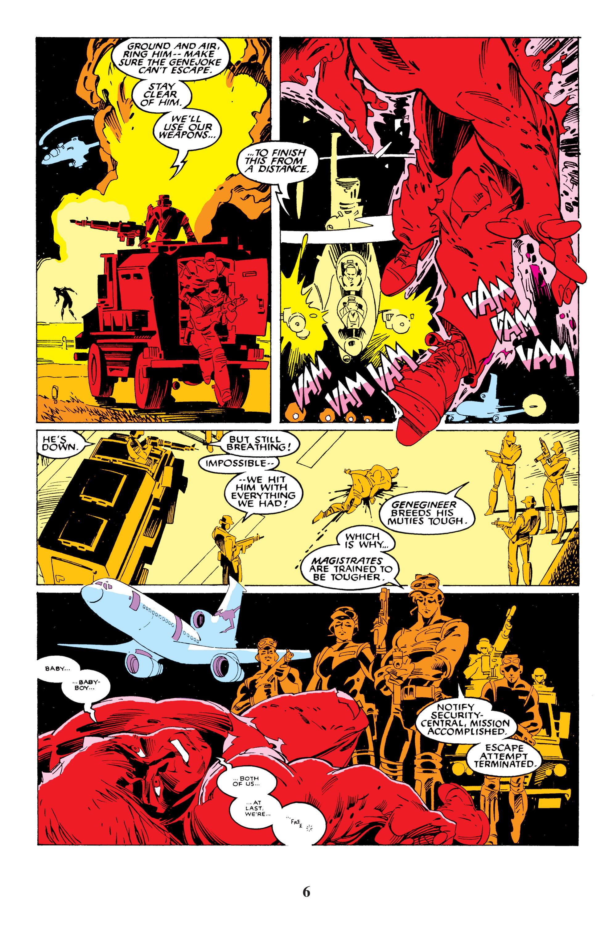 Read online Uncanny X-Men (1963) comic -  Issue #235 - 6