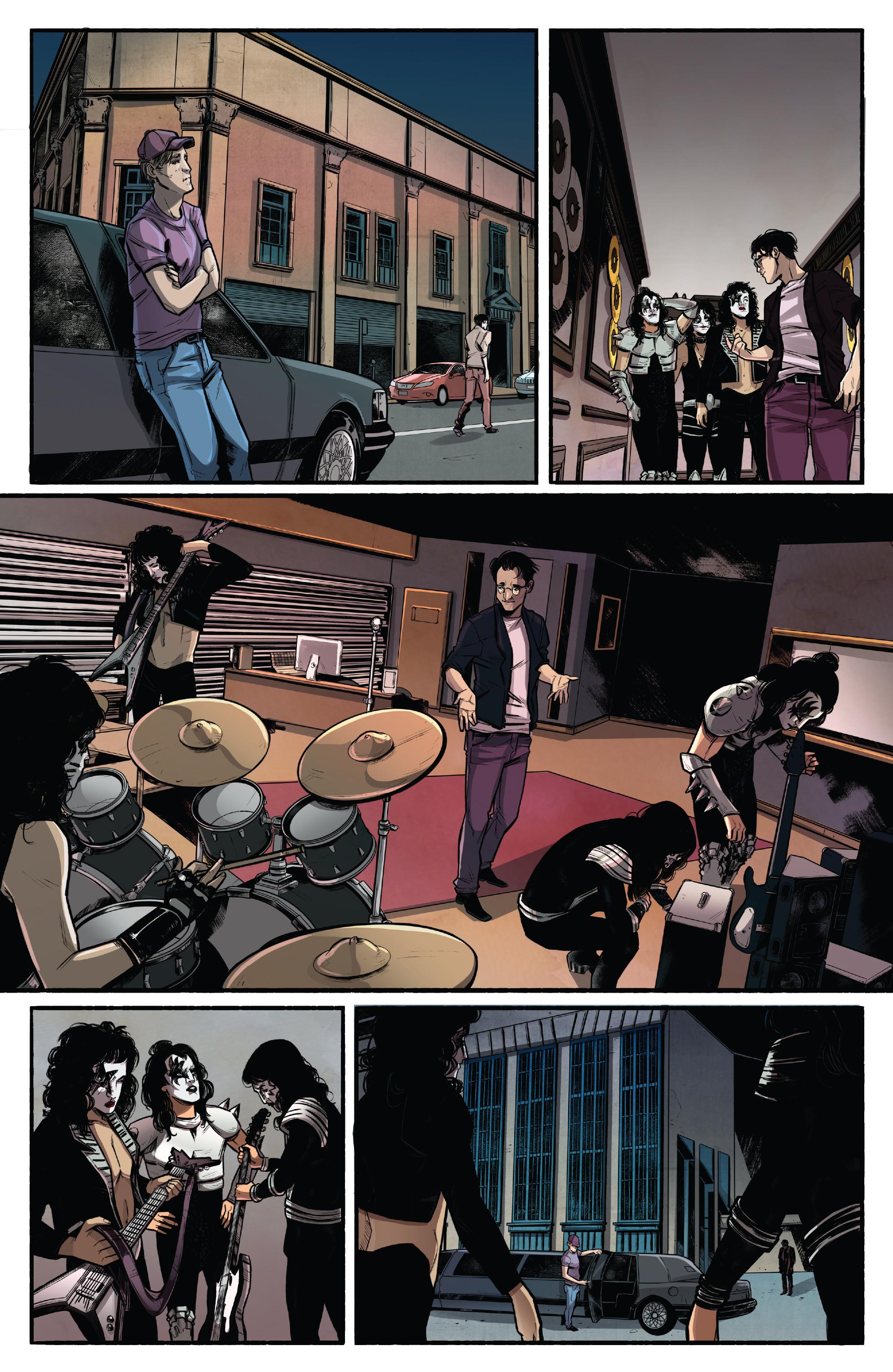 Read online Kiss/Vampirella comic -  Issue #1 - 15