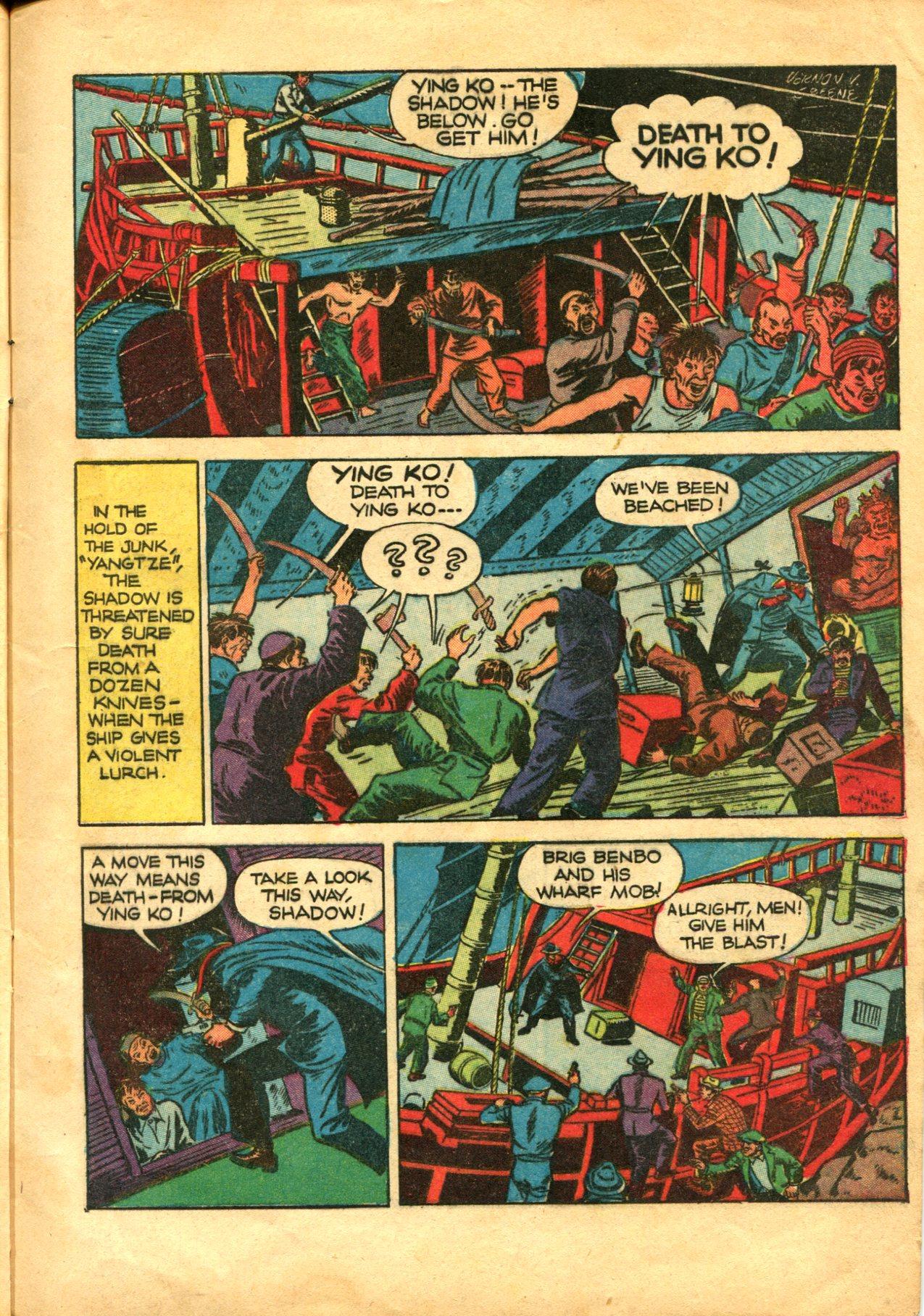 Read online Shadow Comics comic -  Issue #10 - 7