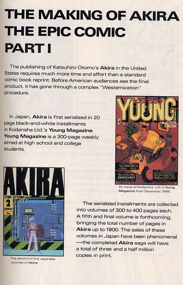 Read online Akira comic -  Issue #13 - 64
